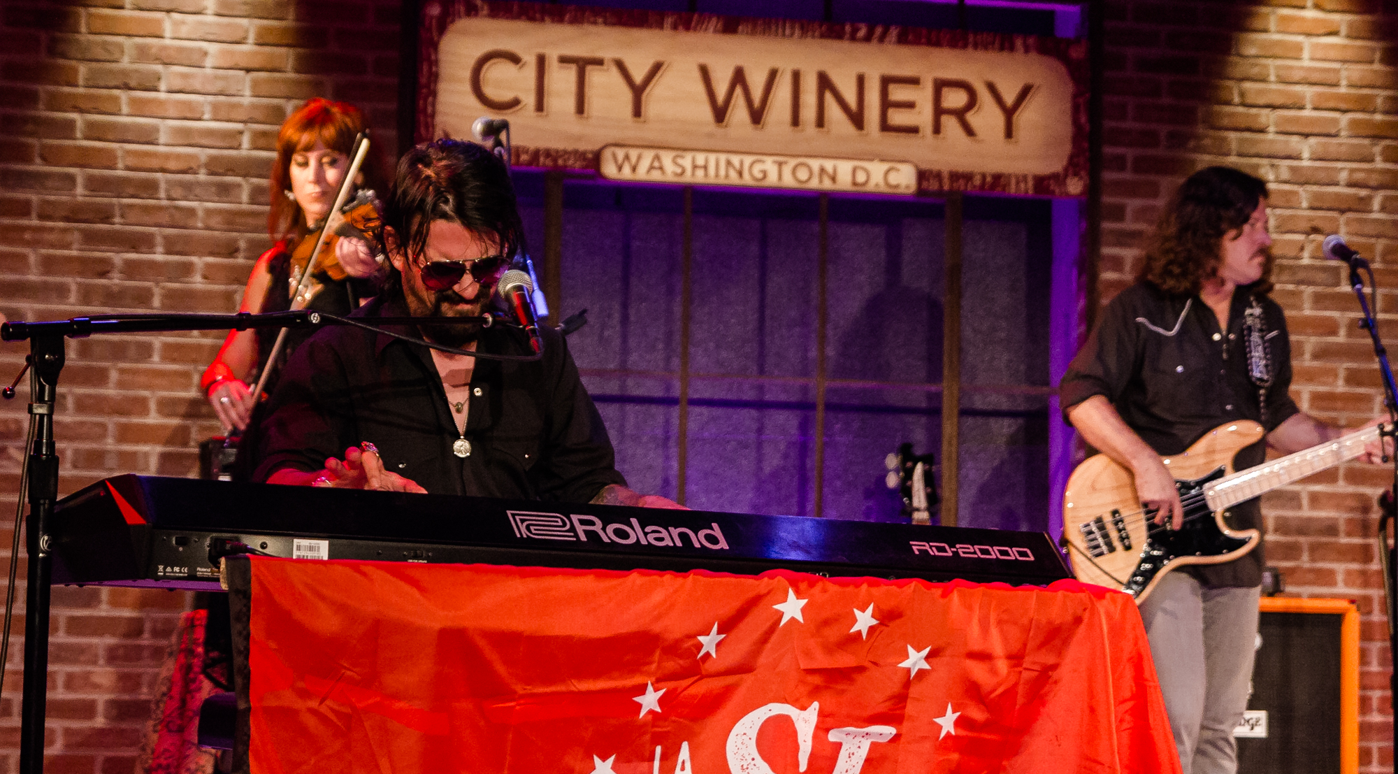 Shooter Jennings City Winery in Washington, DC.(Photo by Kevin Hill /  @kcdeec )   ©2011-2018 ChunkyGlasses.com. All Rights Reserved