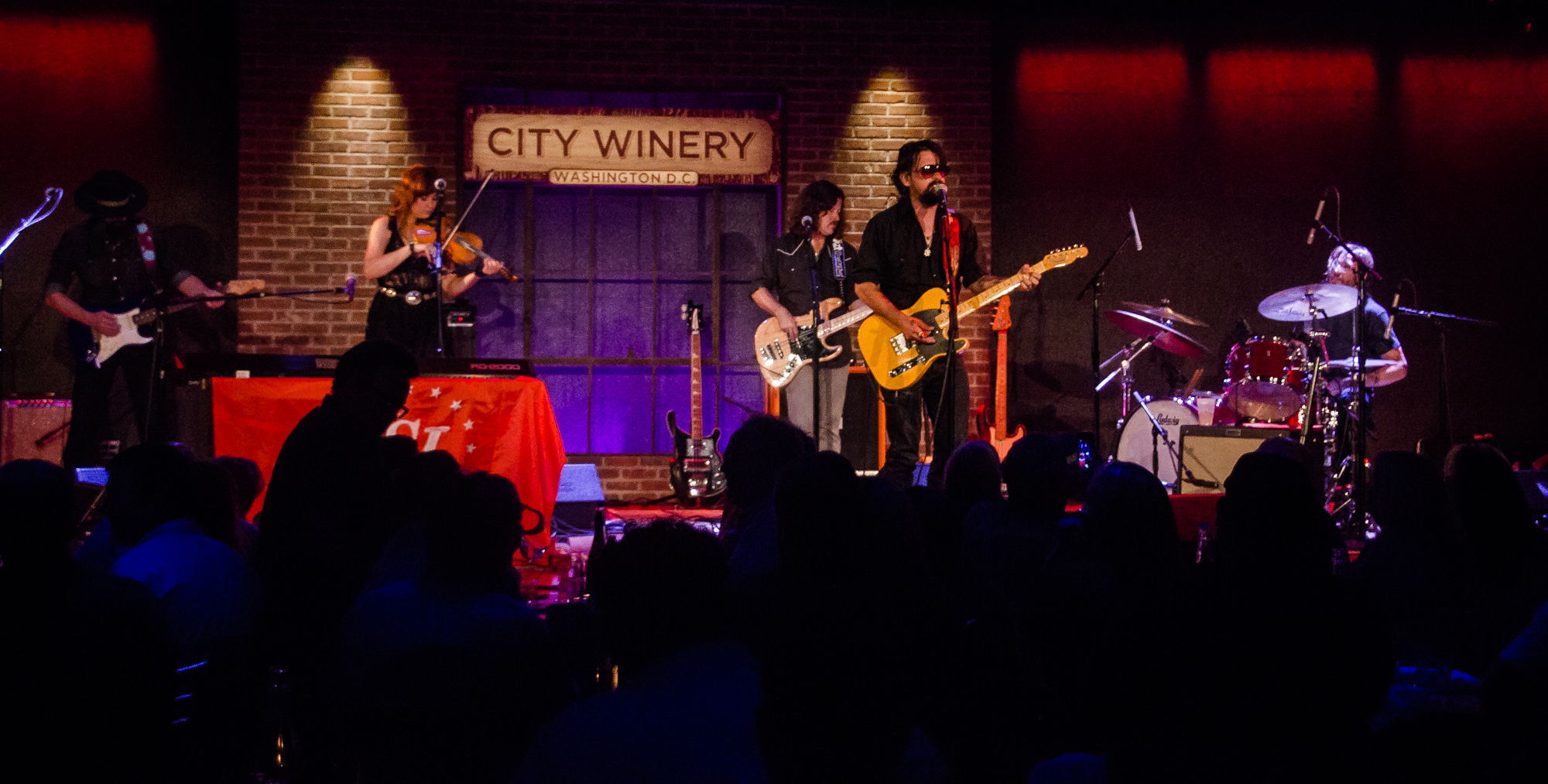 Shooter Jennings City Winery in Washington, DC. (Photo by Kevin Hill /  @kcdeec )  ©2011-2018 ChunkyGlasses.com. All Rights Reserved