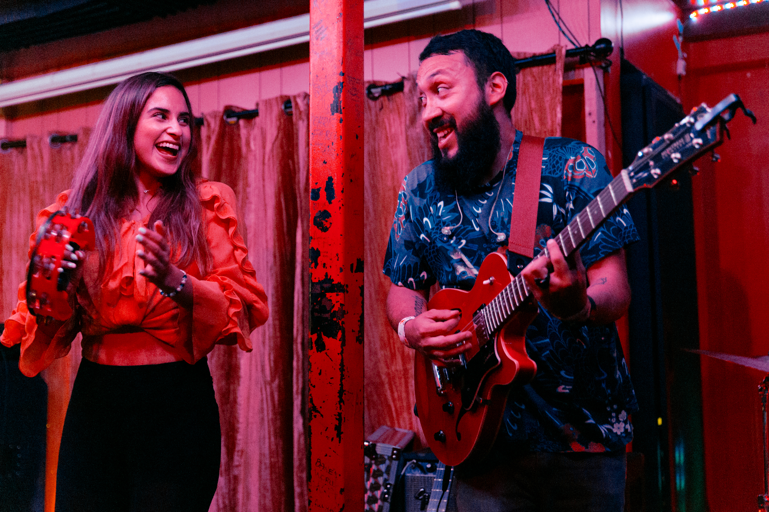 The Chamanas at Songbyrd (Photo by Mauricio Castro /  @themauricio )
