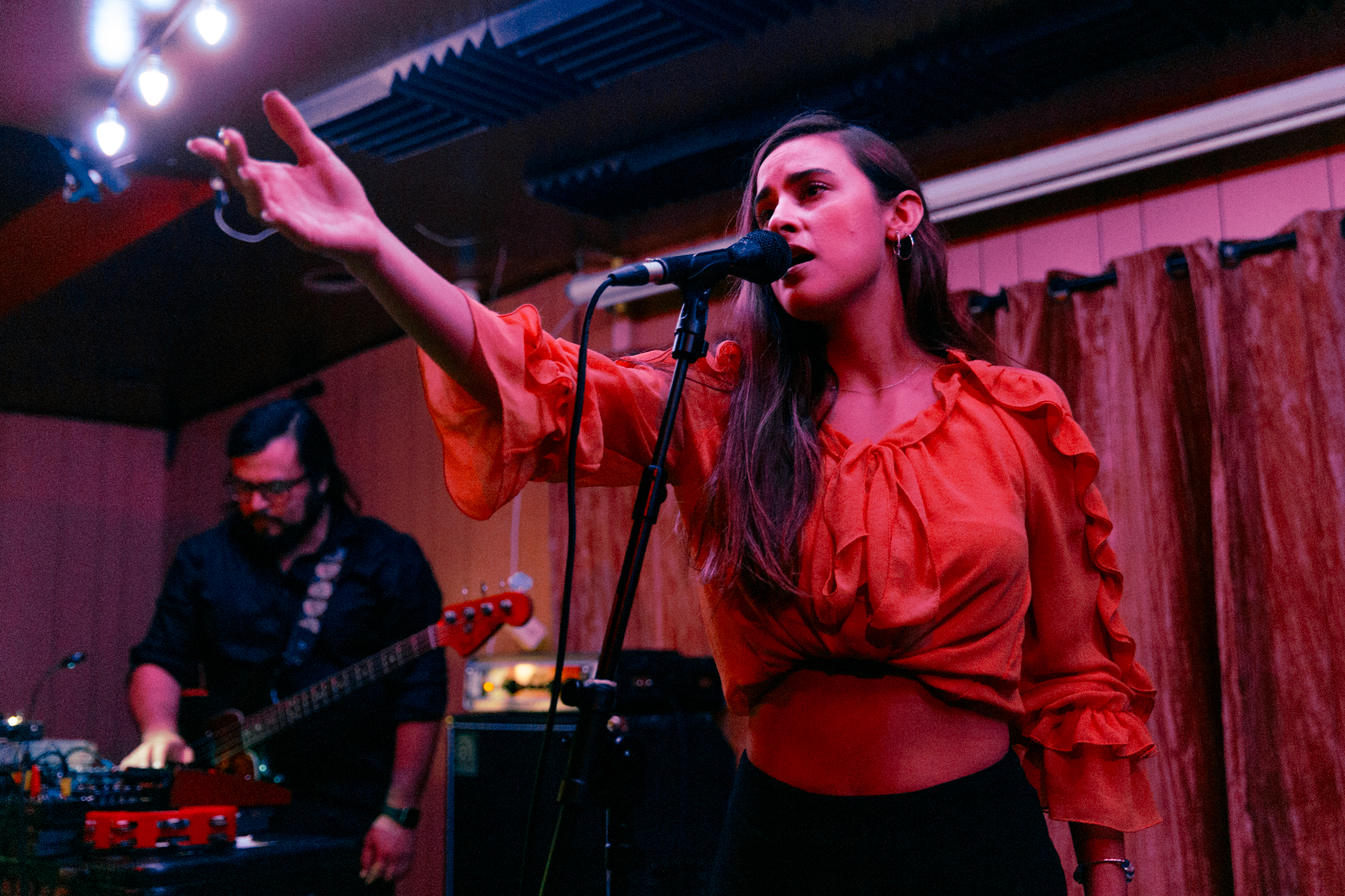 Paulina Reza of The Chamanas (Photo by Mauricio Castro /  @themauricio )