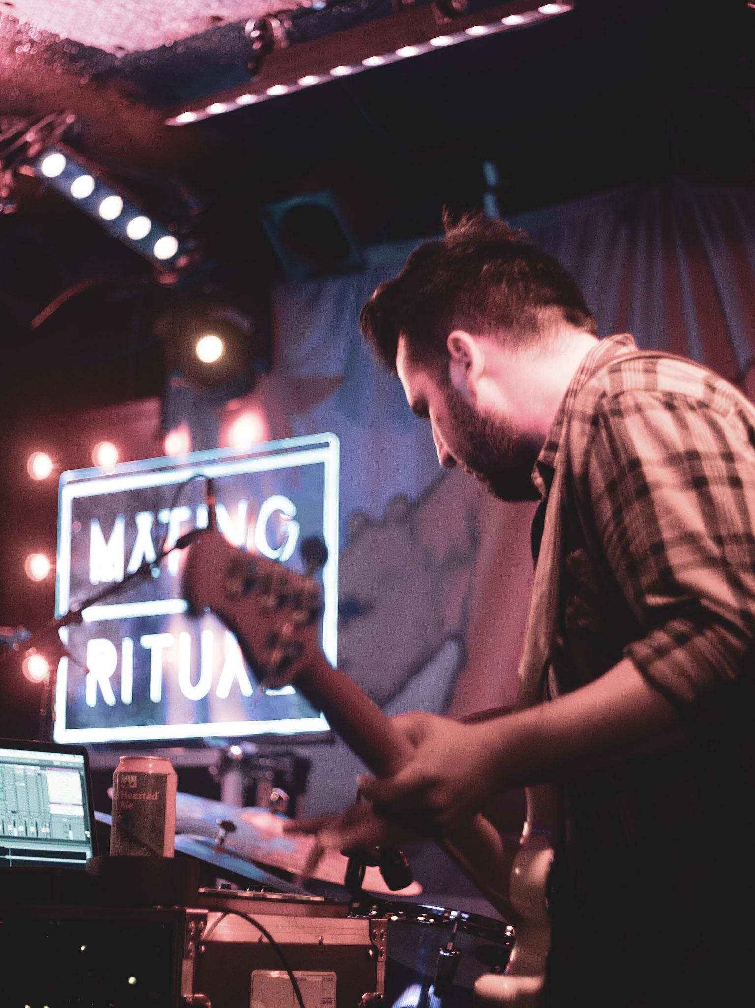 Mating Ritual at Rock and Roll Hotel (Photo by Carolina Correa Caro /  @veronik_bandw )