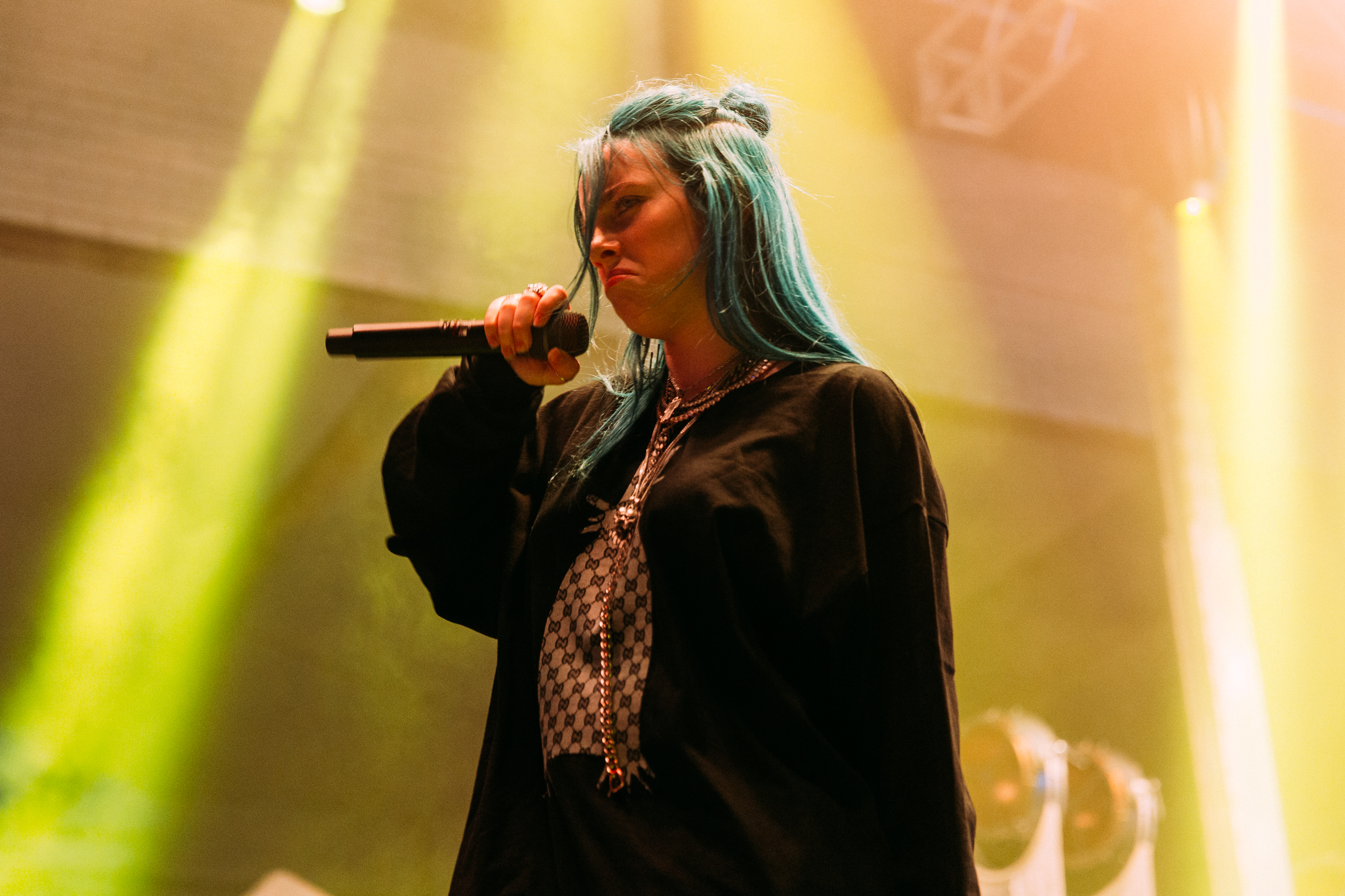 Billie Eilish at the 2018 All Things Go Fall Classic (Photo by Mauricio Castro)