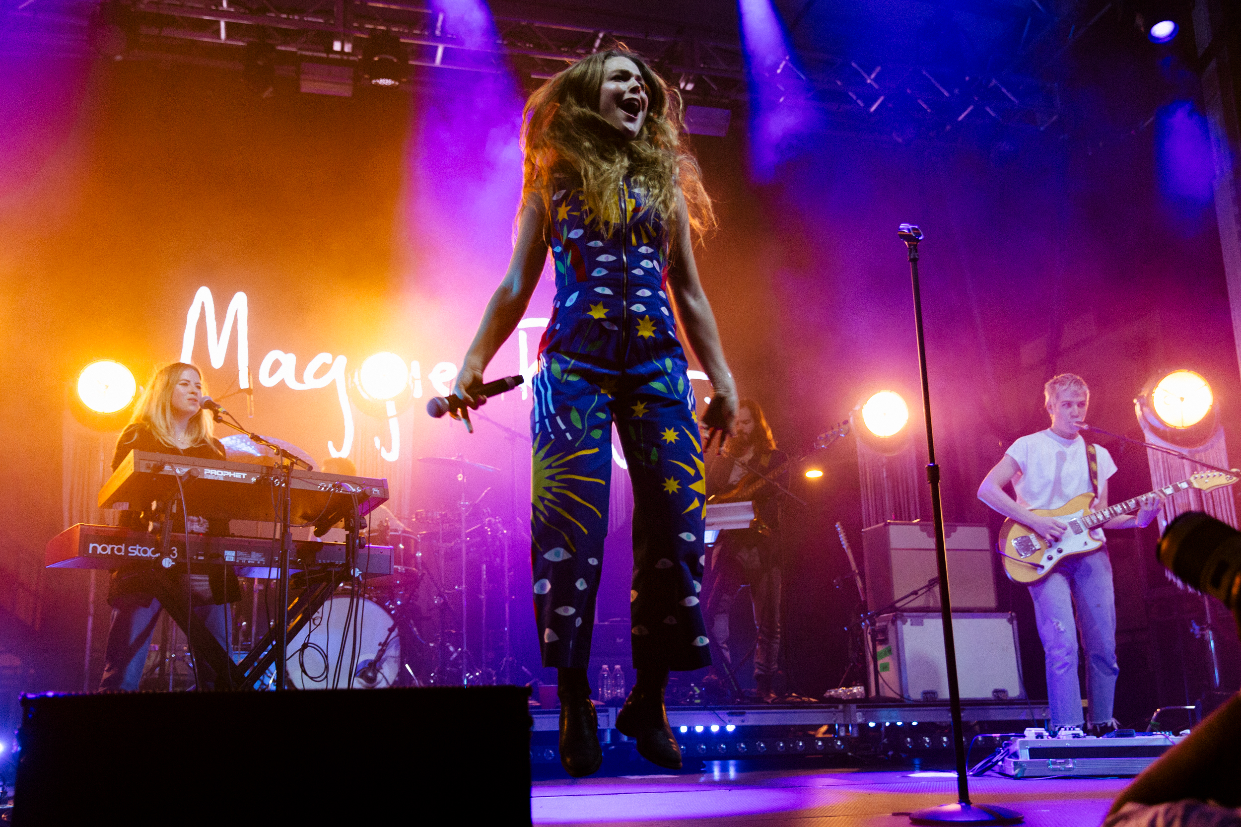 Maggie Rogers at the 2018 All Things Go Fall Classic (Photo by Mauricio Castro)