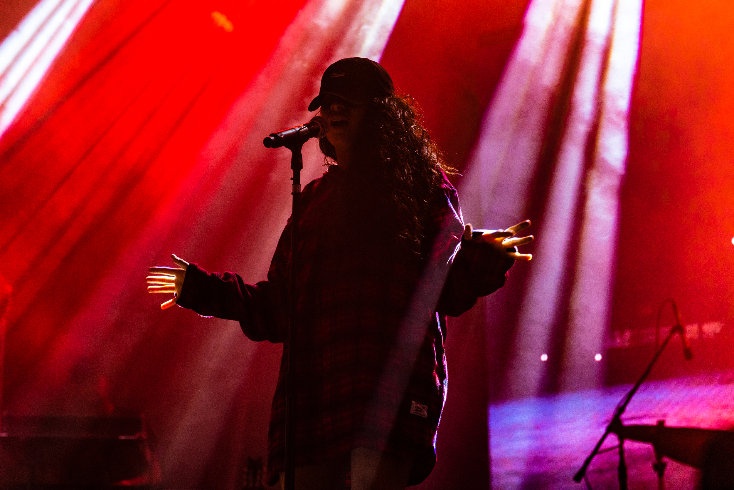Jessie Reyez at the 2018 All Things Go Fall Classic (Photo by Mauricio Castro)