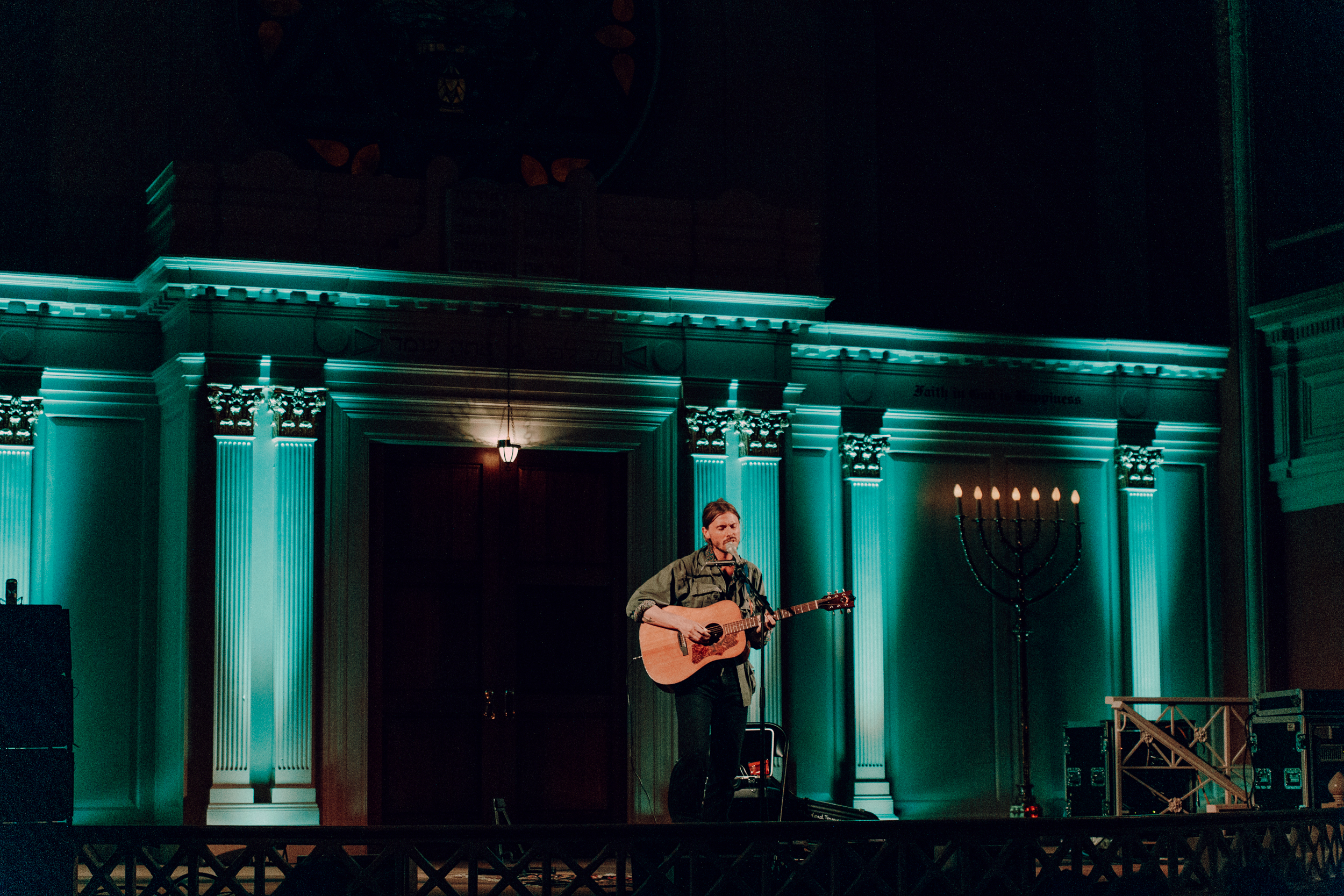 The Dead Tongues at Sixth & I Historic Synagogue (Photo by Mauricio Castro /  @themauricio )