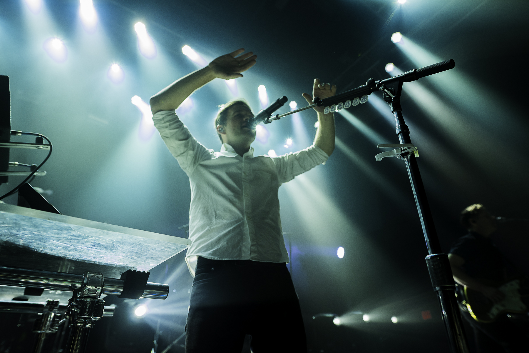 St. Lucia's Jean-Phillip Grobler at 9:30 Club (Photo by Krystina Brown /  @krystinagabrielle )
