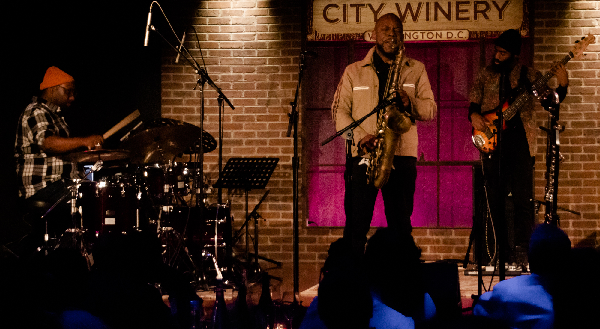 Marcus Strickland at City Winery in Washington, D.C. - 11/20/18 (Photo by Kevin Hill)