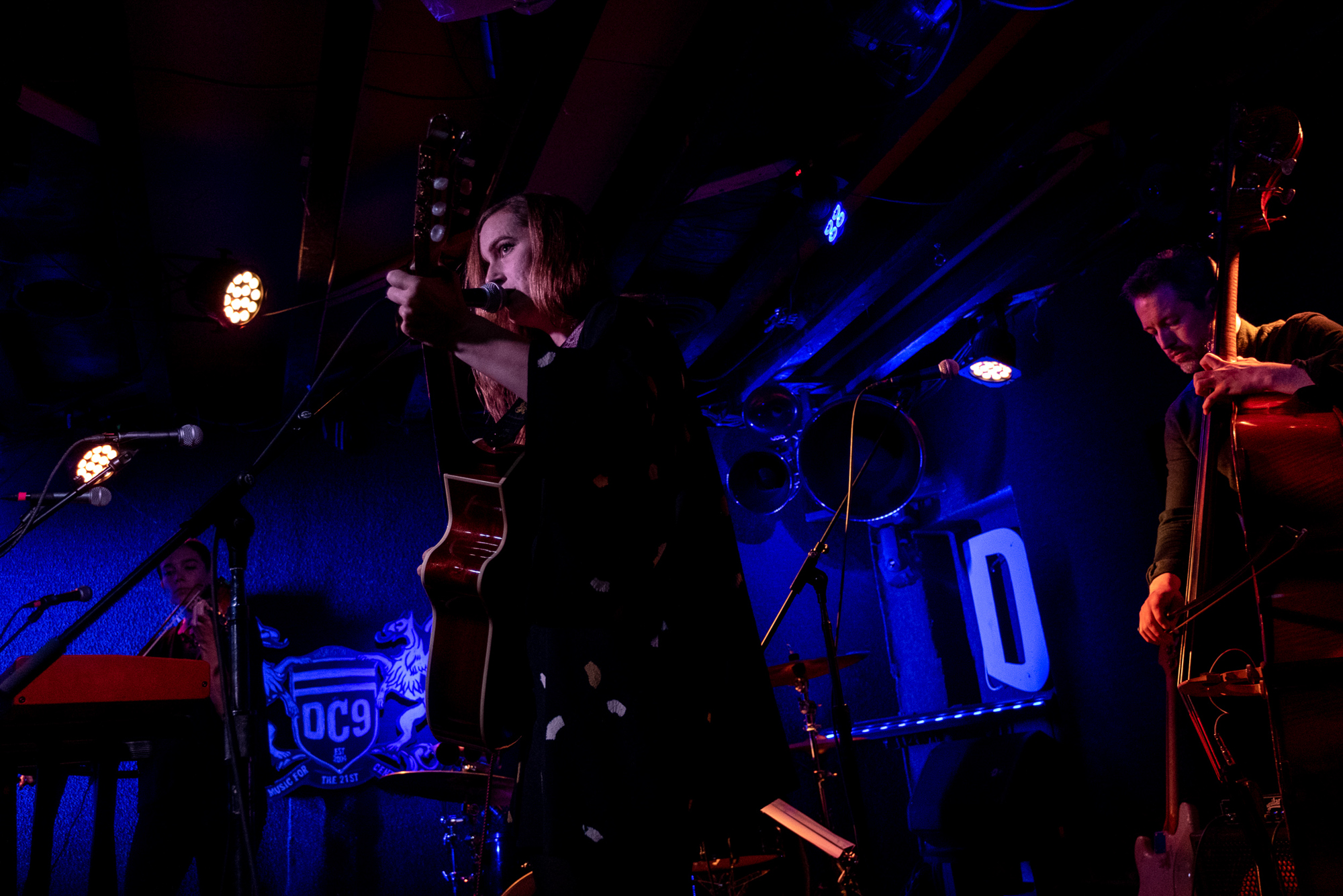 """Laura Gibson performing songs off of her latest LP 'Goners"""" at DC9 in Washington, D.C. - 11/26/18 (Photo by Joel Richard)"""