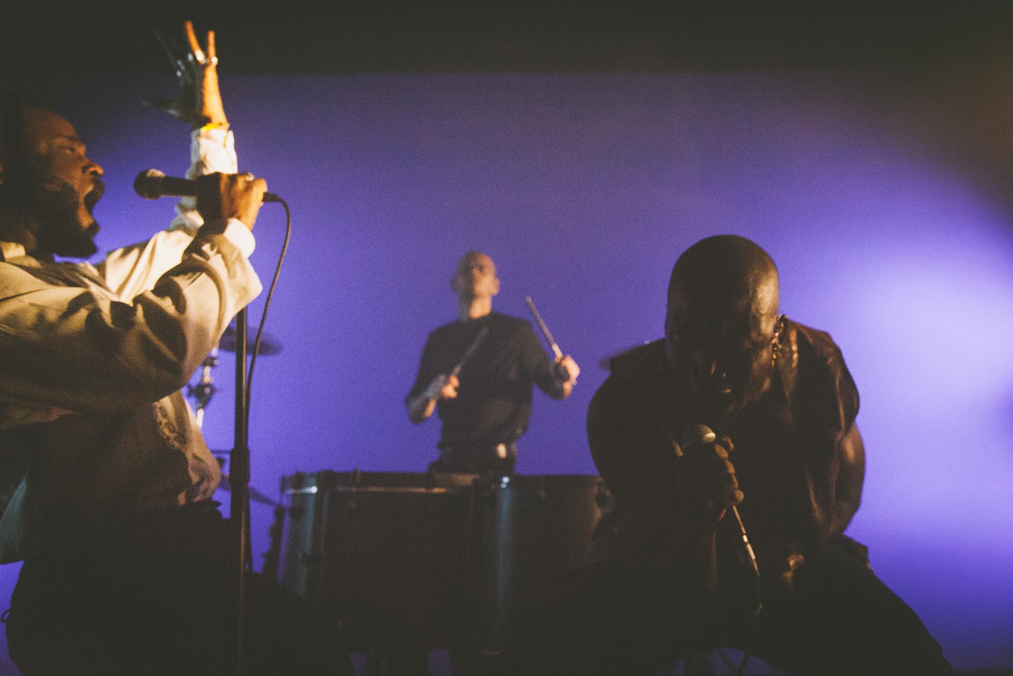 Cursive frontman Tim Kasher at Thalia Hall in Chicago (Photo by  Alex Schelldorf )