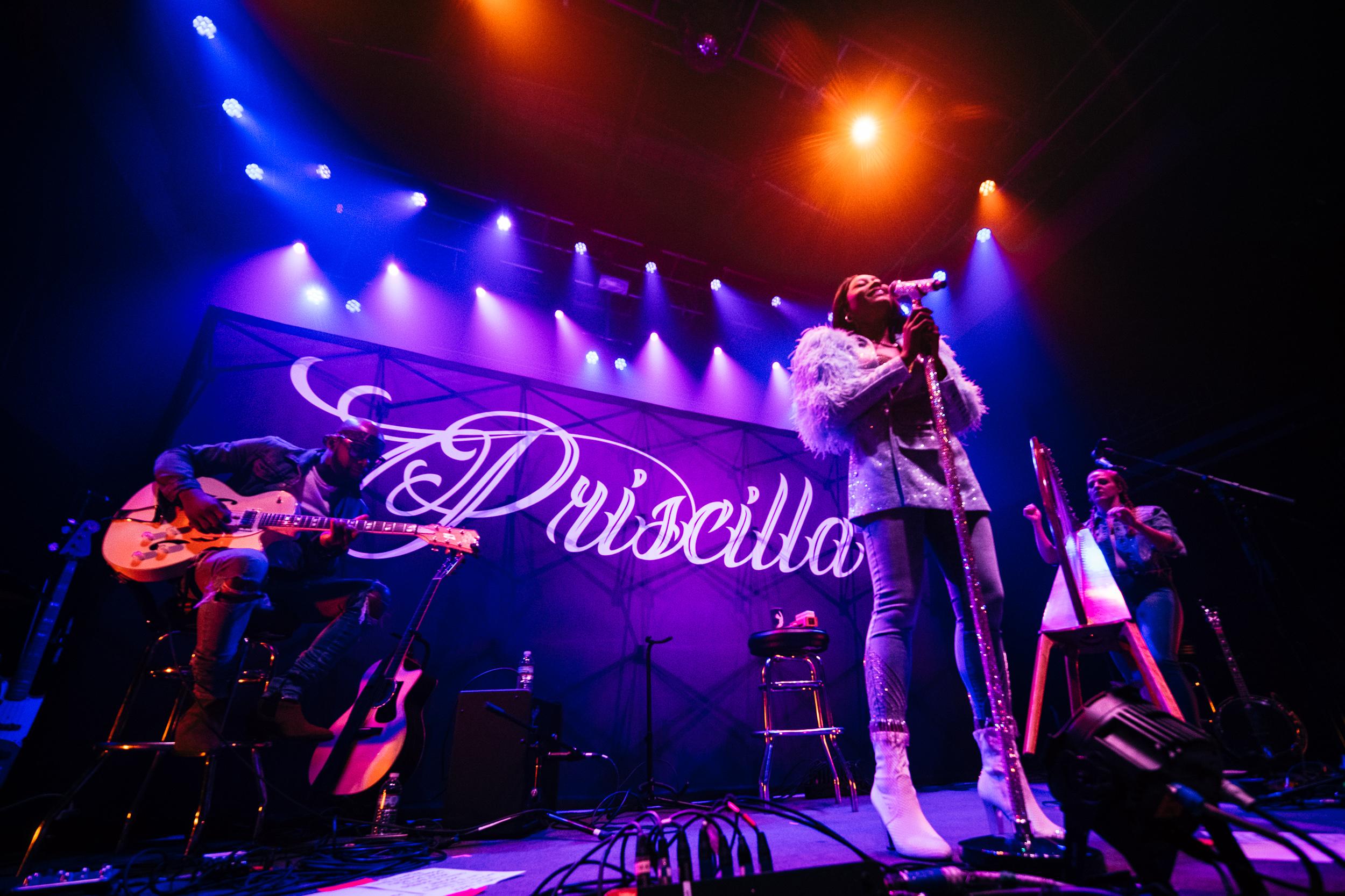 Priscilla Renea at 9:30 Club (Photo by Joel Richard)