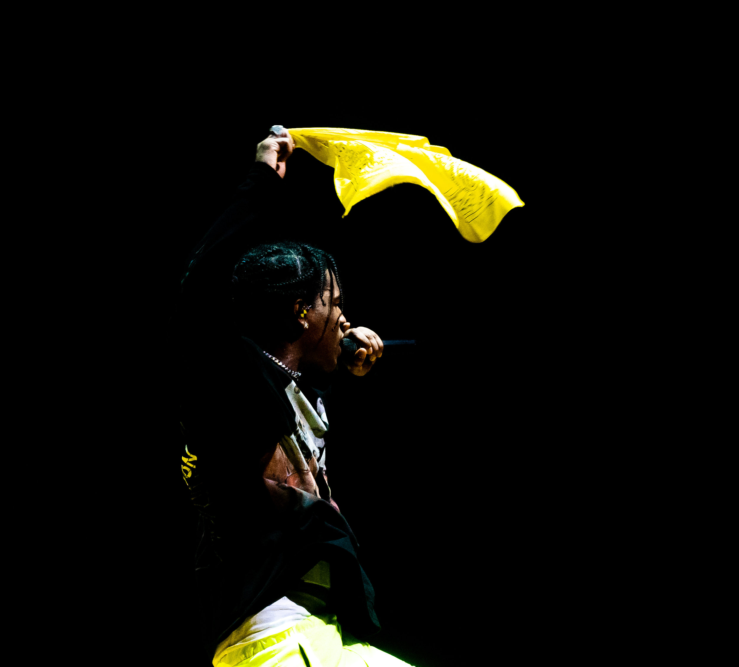 A$AP Rocky at The Anthem (Photo by Avery Junius /  @1takeace )