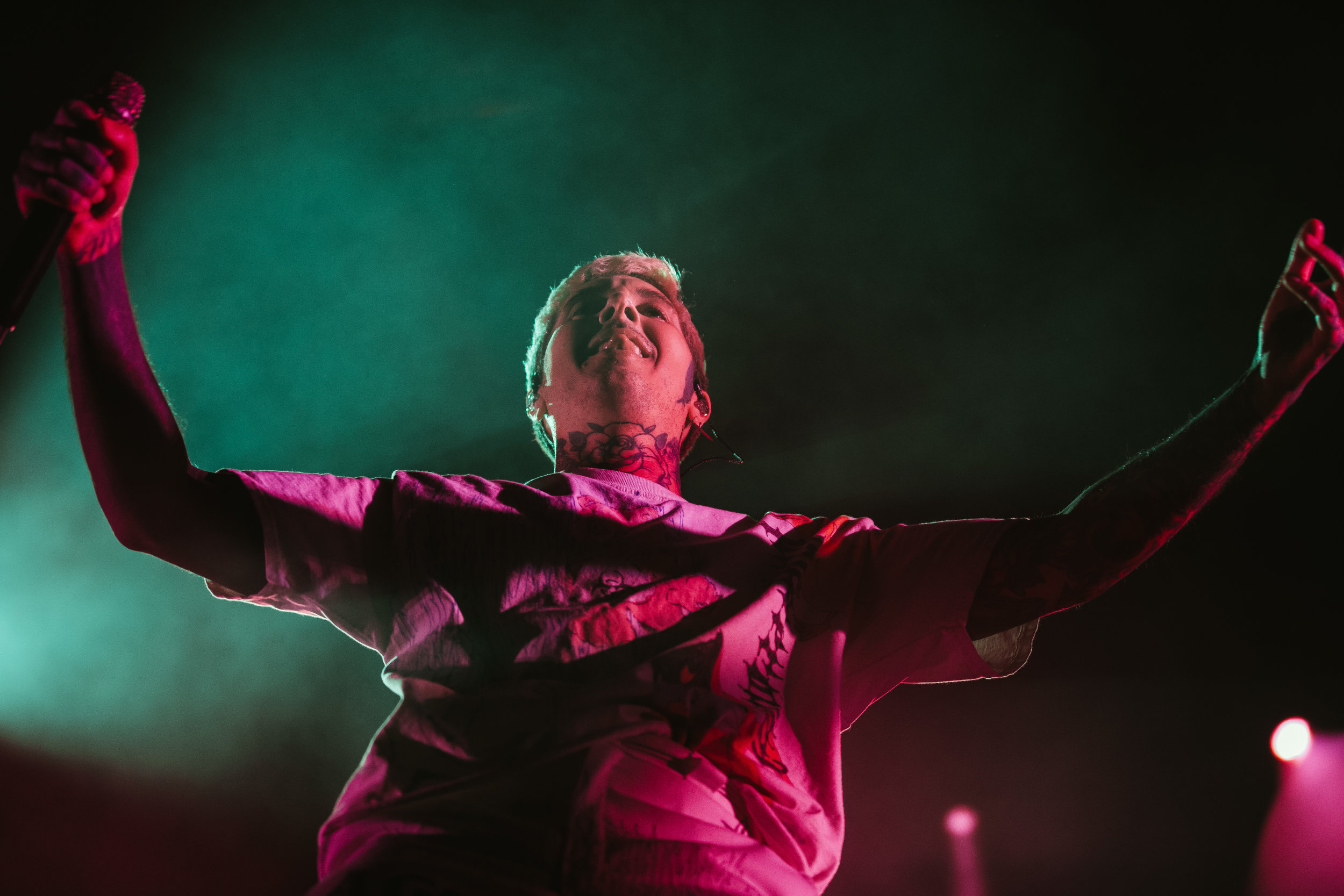 Bring Me the Horizon at EagleBank Arena (Photo by Anna Moneymaker)