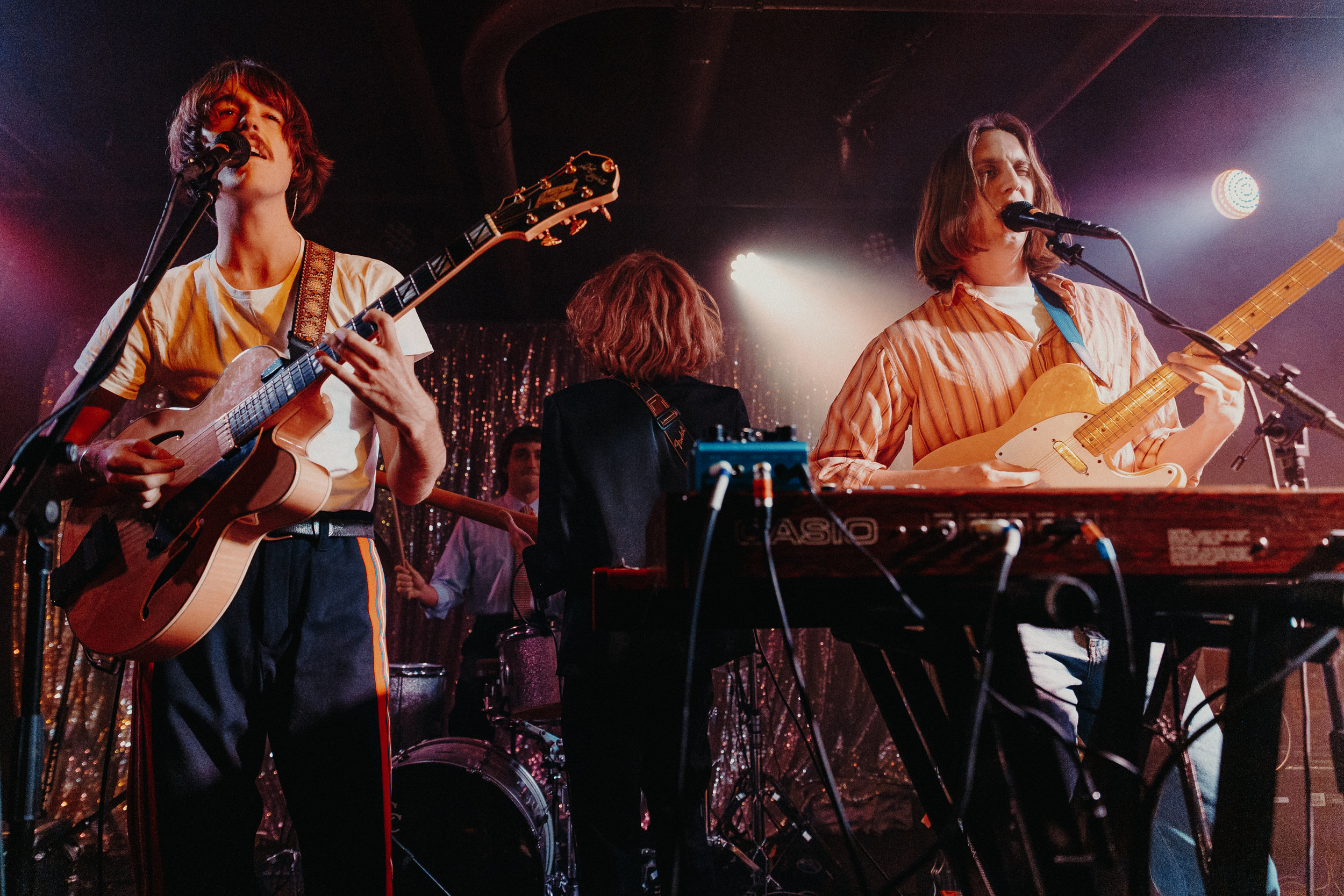 Parcels at U Street Music Hall (Photo by Mauricio Castro)