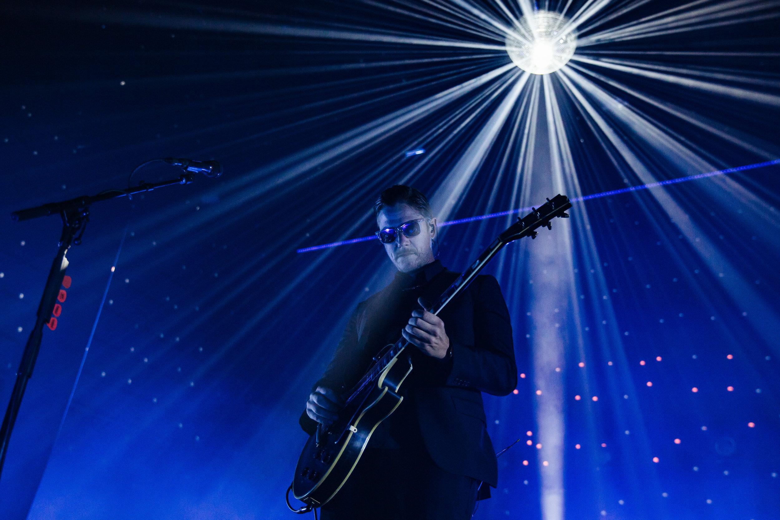 Interpol at The Anthem. (Photo by Anna Moneymaker)