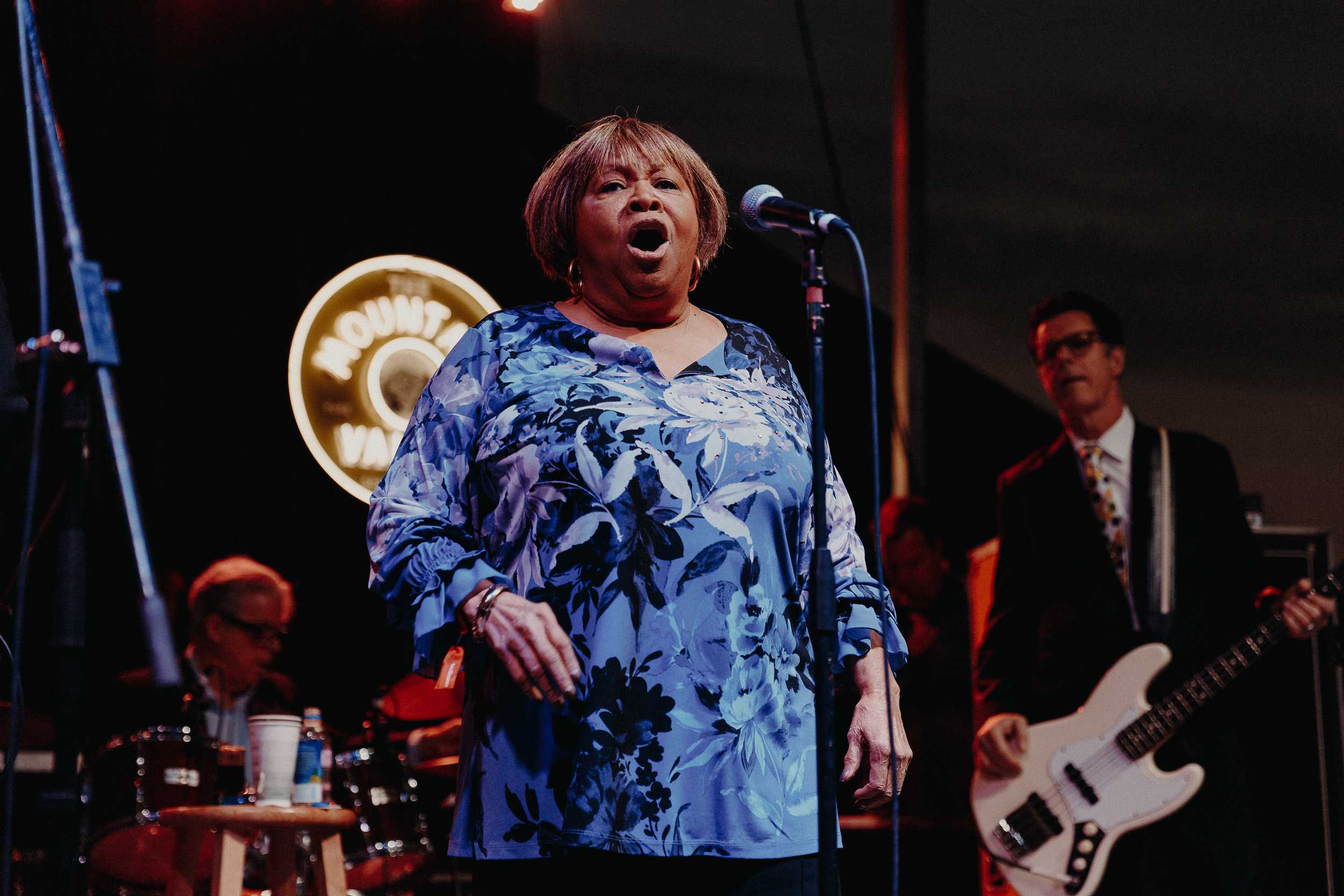 Mavis Staples at Luck Reunion (Photo by Mauricio Castro)