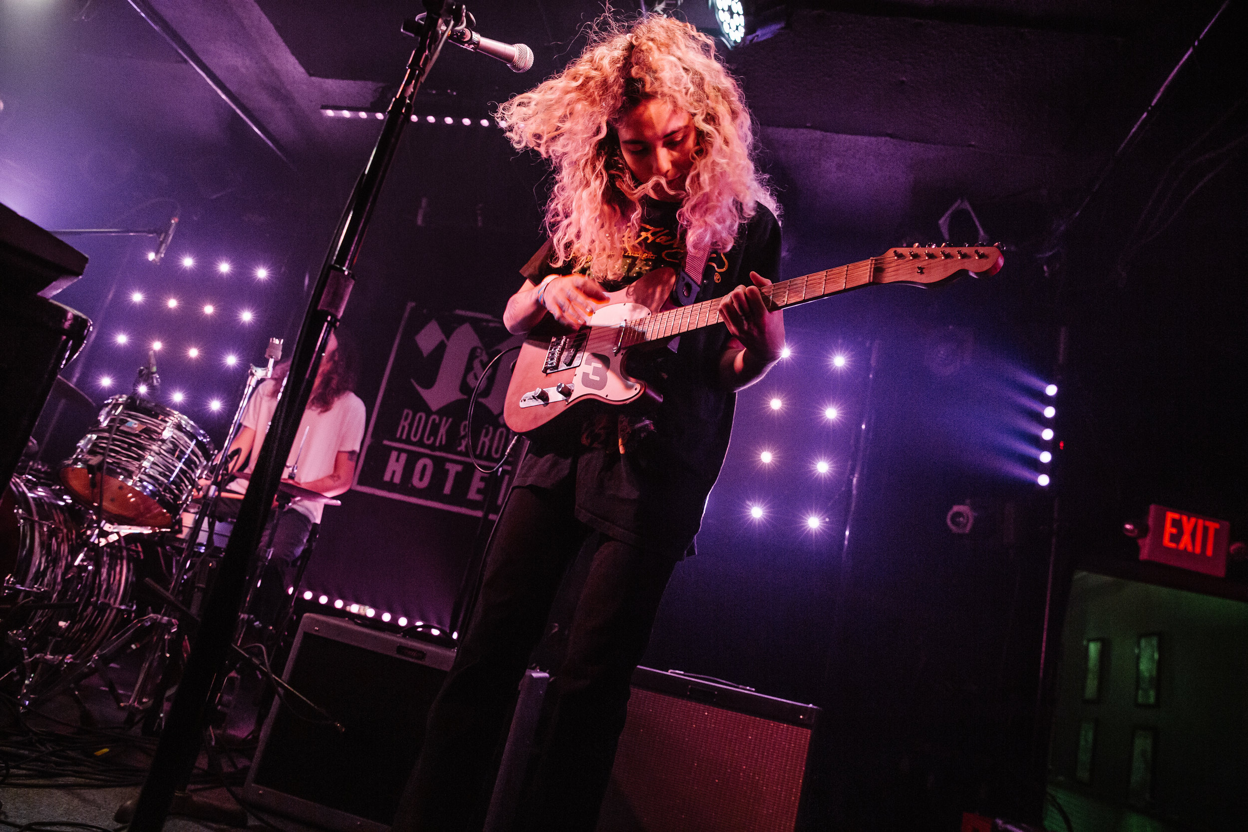 Indigo De Souza at Rock and Roll Hotel. (Photo by Anna Moneymaker)