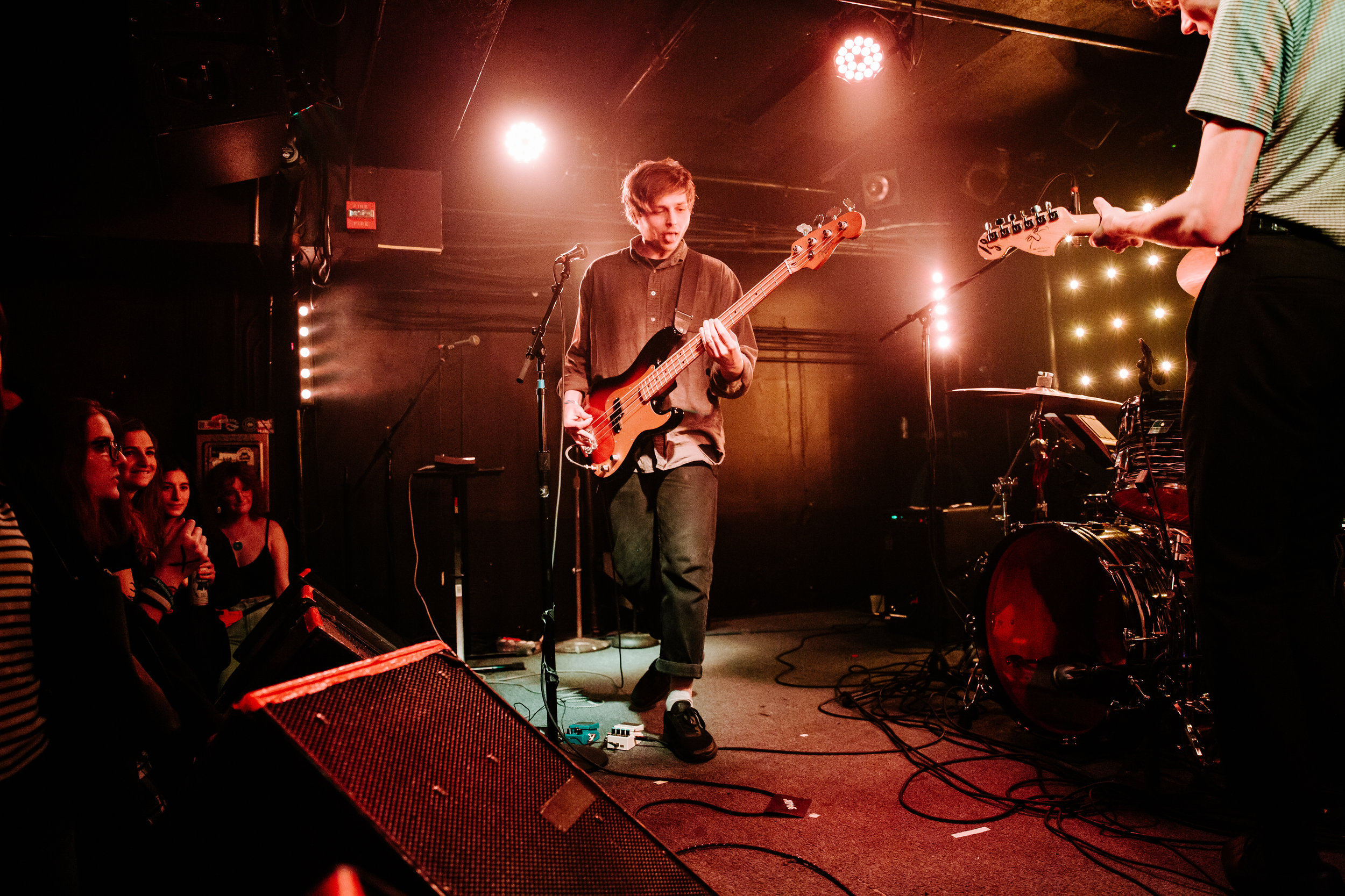 Vundabar at Rock and Roll Hotel. (Photo by Anna Moneymaker)