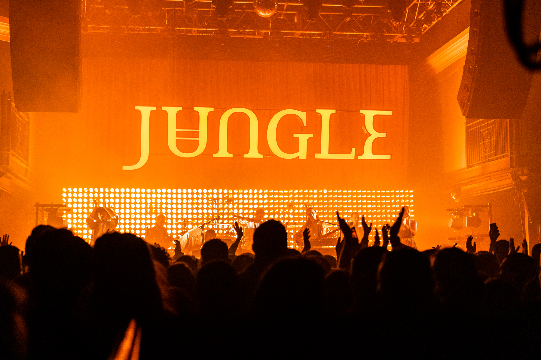Jungle at 9:30 Club (Photo by Krystina Brown)