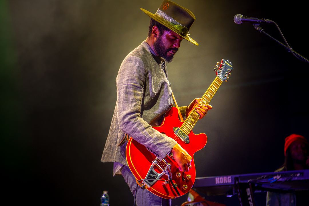 Gary Clark Jr. at The Anthem (Photo by Carolina Correa-Caro)