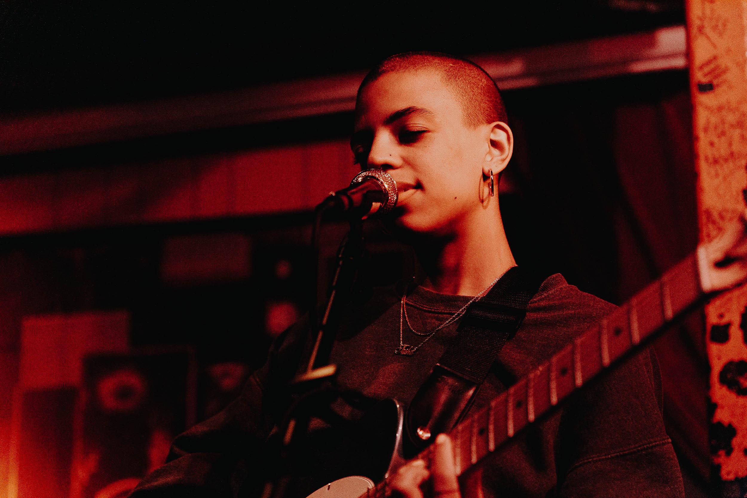Tasha at Songbyrd (Photo by Mauricio Castro)