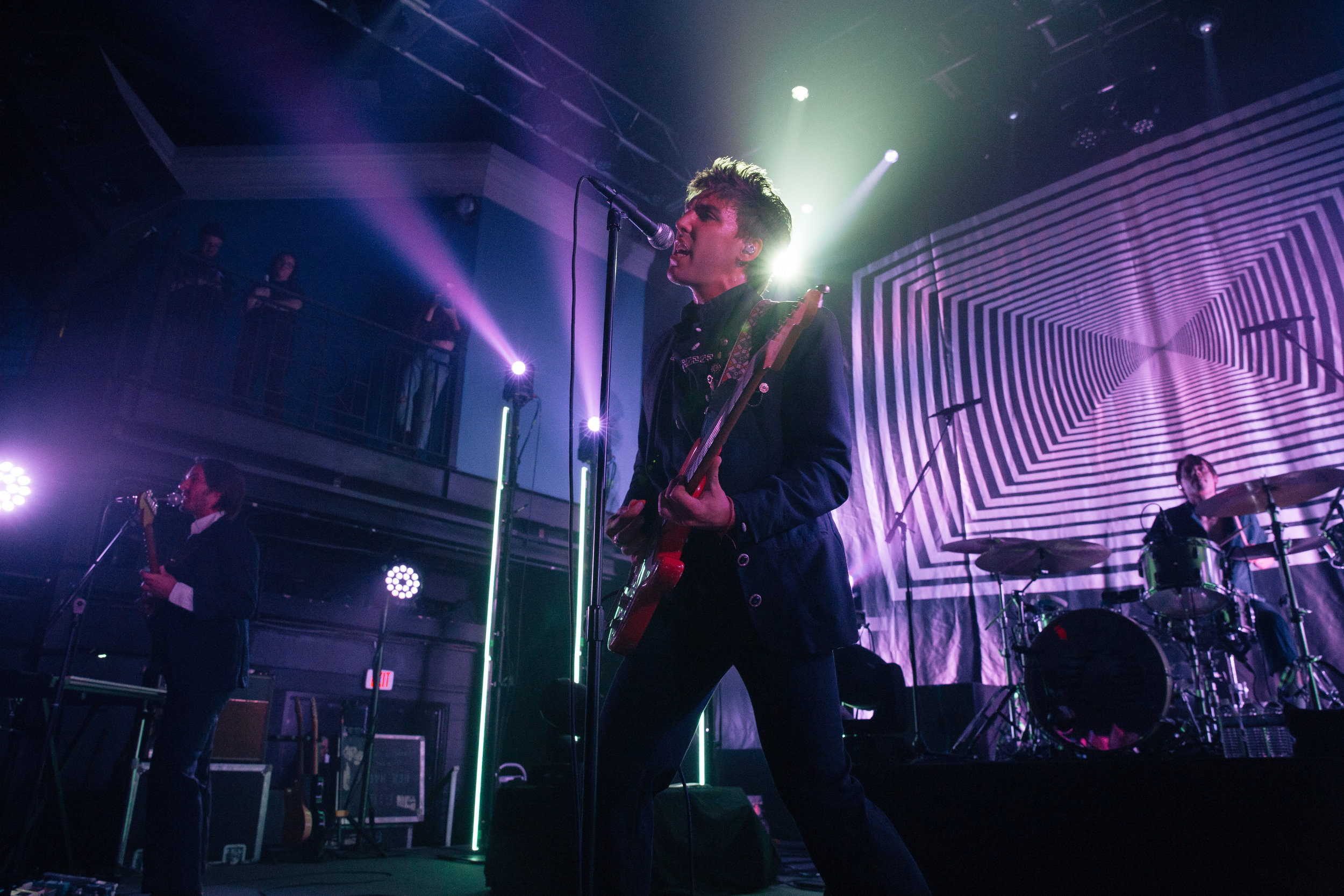 Bad Suns at The 9:30 Club. (Photo by Anna Moneymaker)