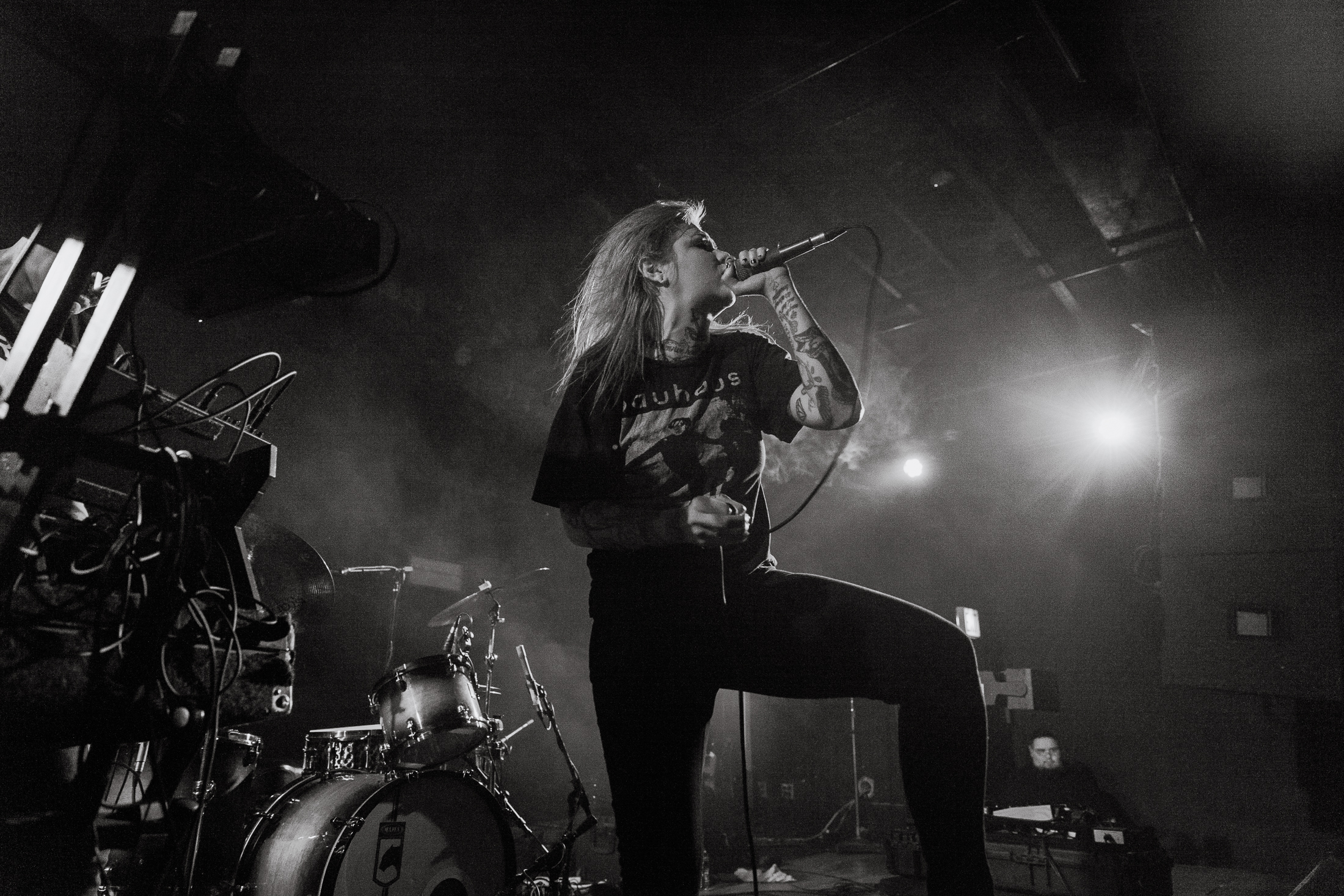 Youth Code at Bottom Lounge. Photo by Alex Schelldorf.
