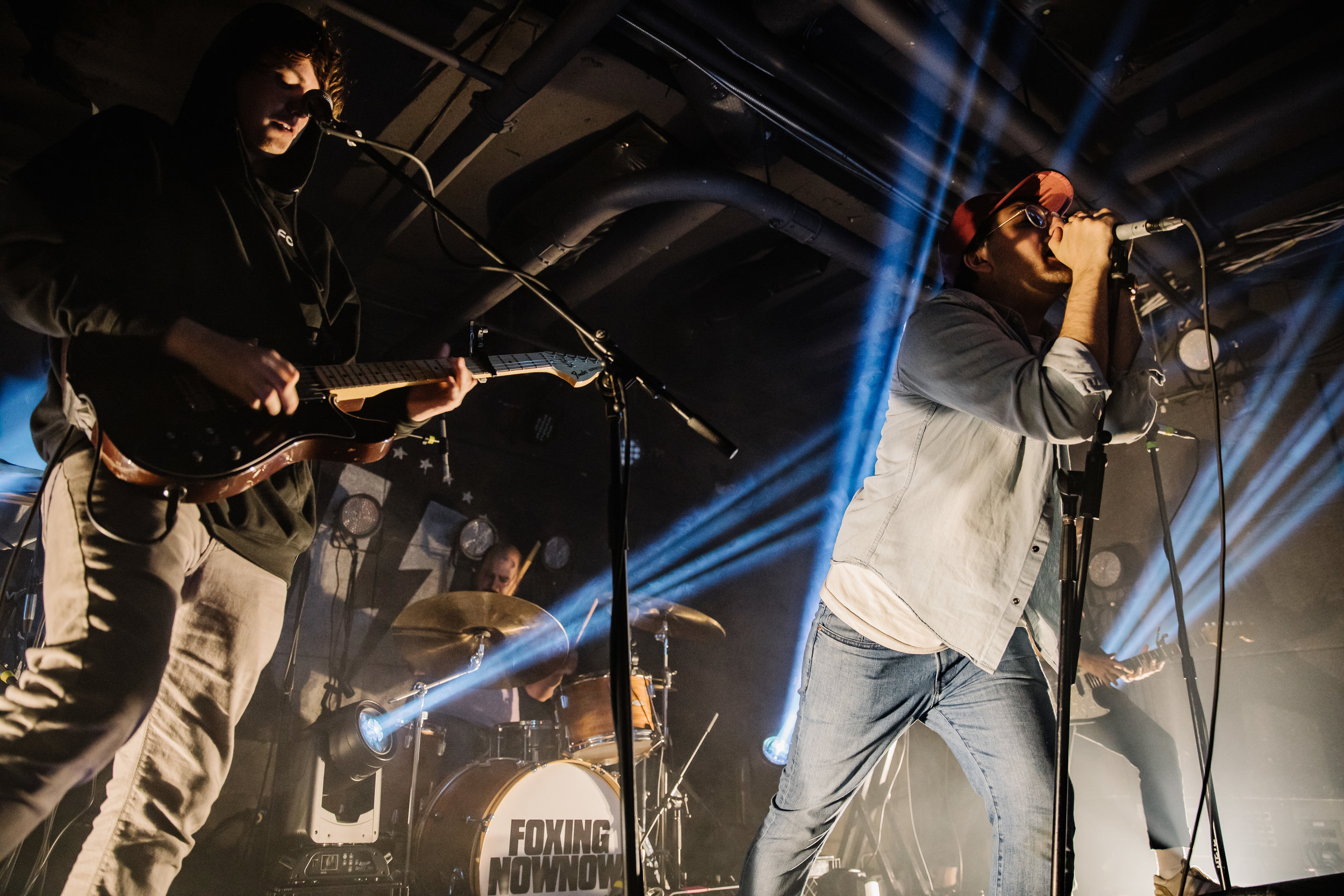 Foxing at U Street Music Hall (Photo by Anna Moneymaker)