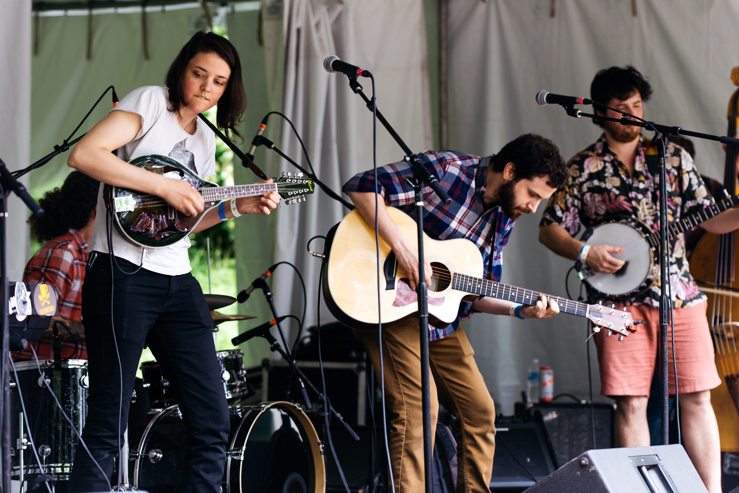 Haint Blue at Kingman Island Bluegrass & Folk Festival (Photo by Mauricio Castro)