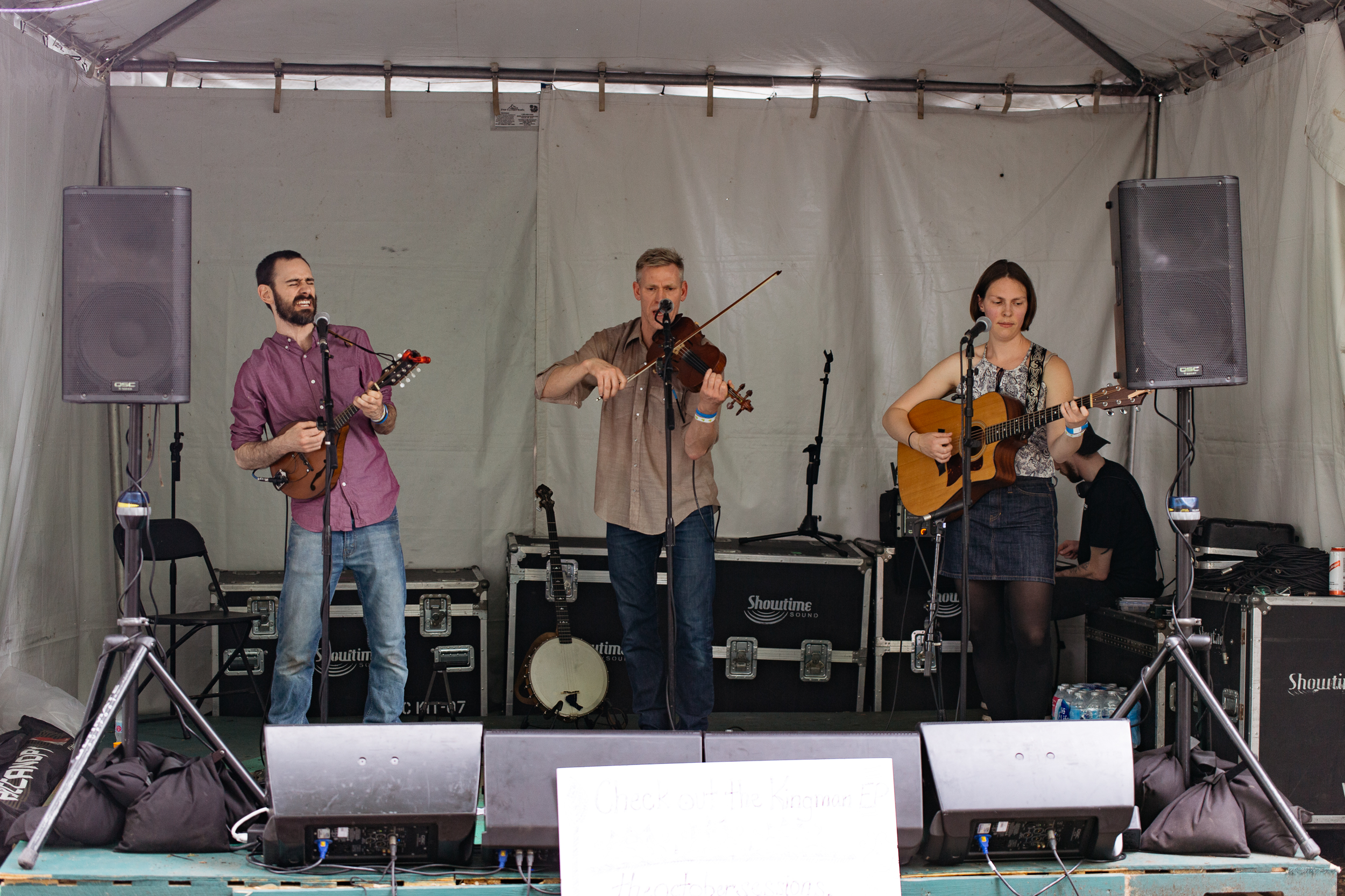 The October Sessions at Kingman Island Bluegrass & Folk Festival (Photo by Mauricio Castro)