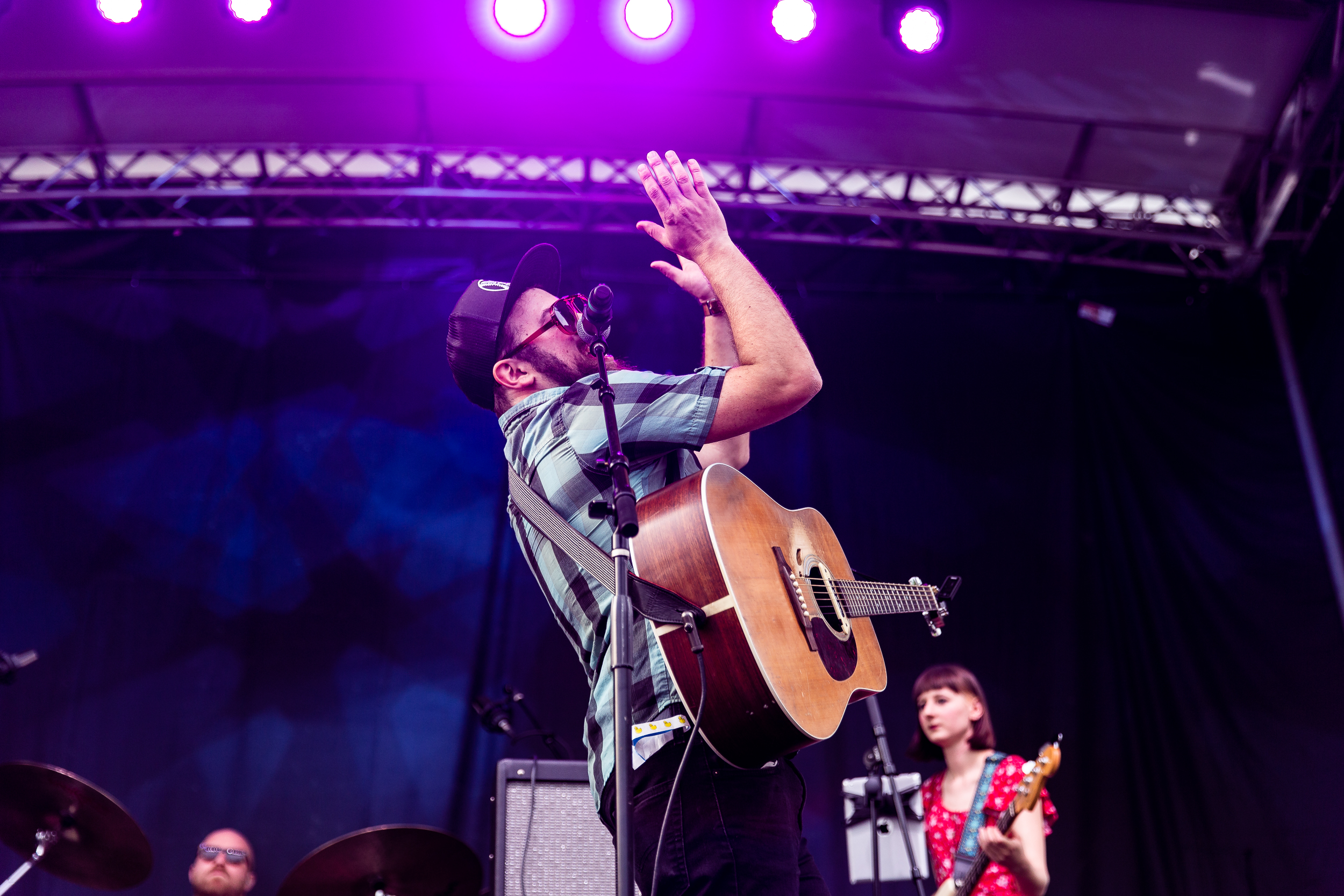 Dustbowl Revival at Kingman Island Bluegrass and Folk Festival (Photo by Mauricio Castro /  @themauricio )