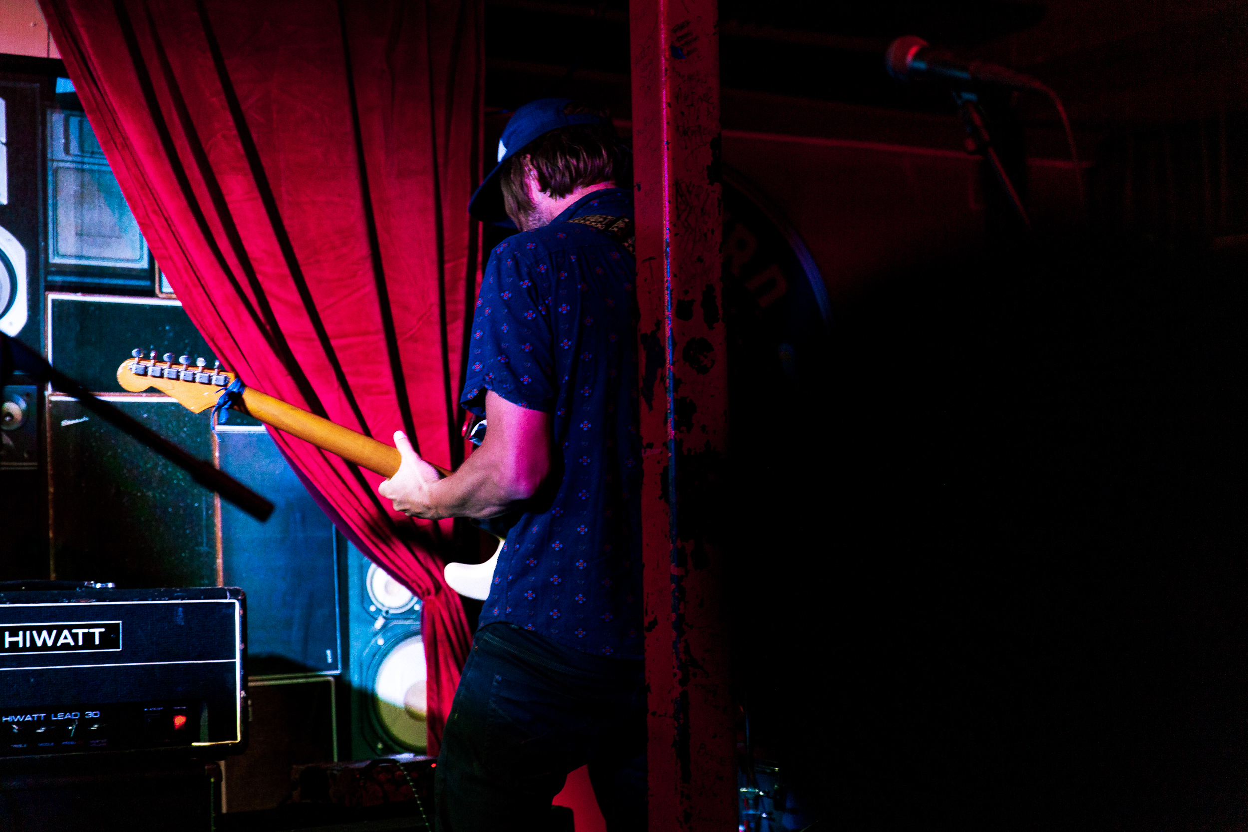 Sego at Songbyrd (Photo by Mauricio Castro)
