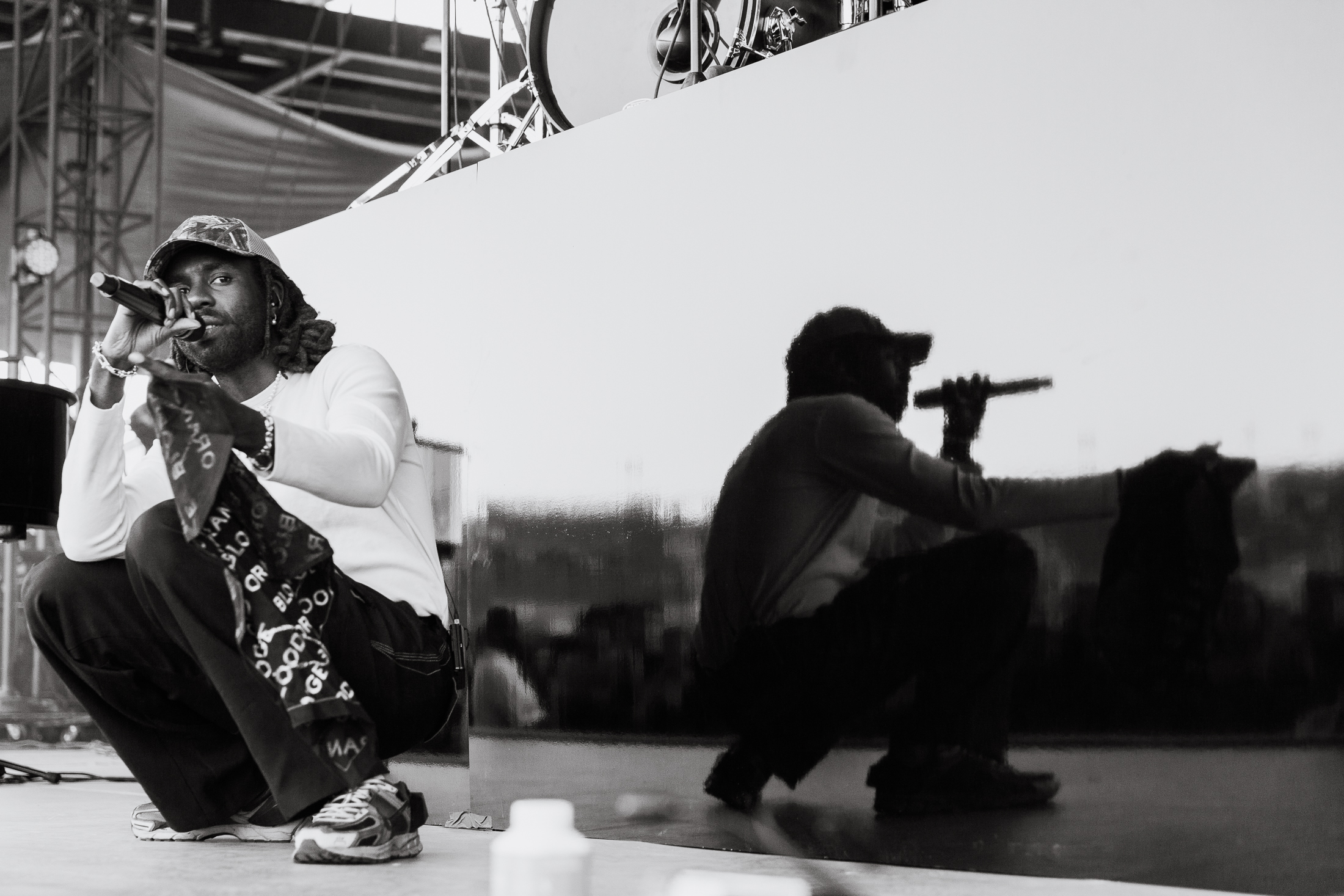 Blood Orange opening for Florence and the Machine at Huntington Bank Pavilion in Chicago, IL (Photo by  Alex Schelldorf )