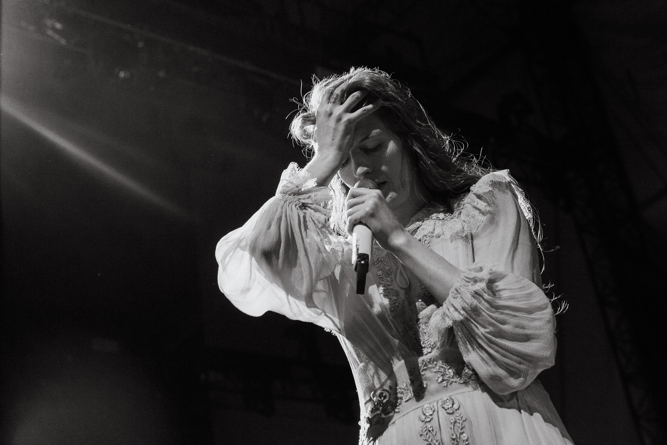 Florence and the Machine at the Huntington Bank Pavilion at Northerly Island. (Photo by Alex Schelldorf)