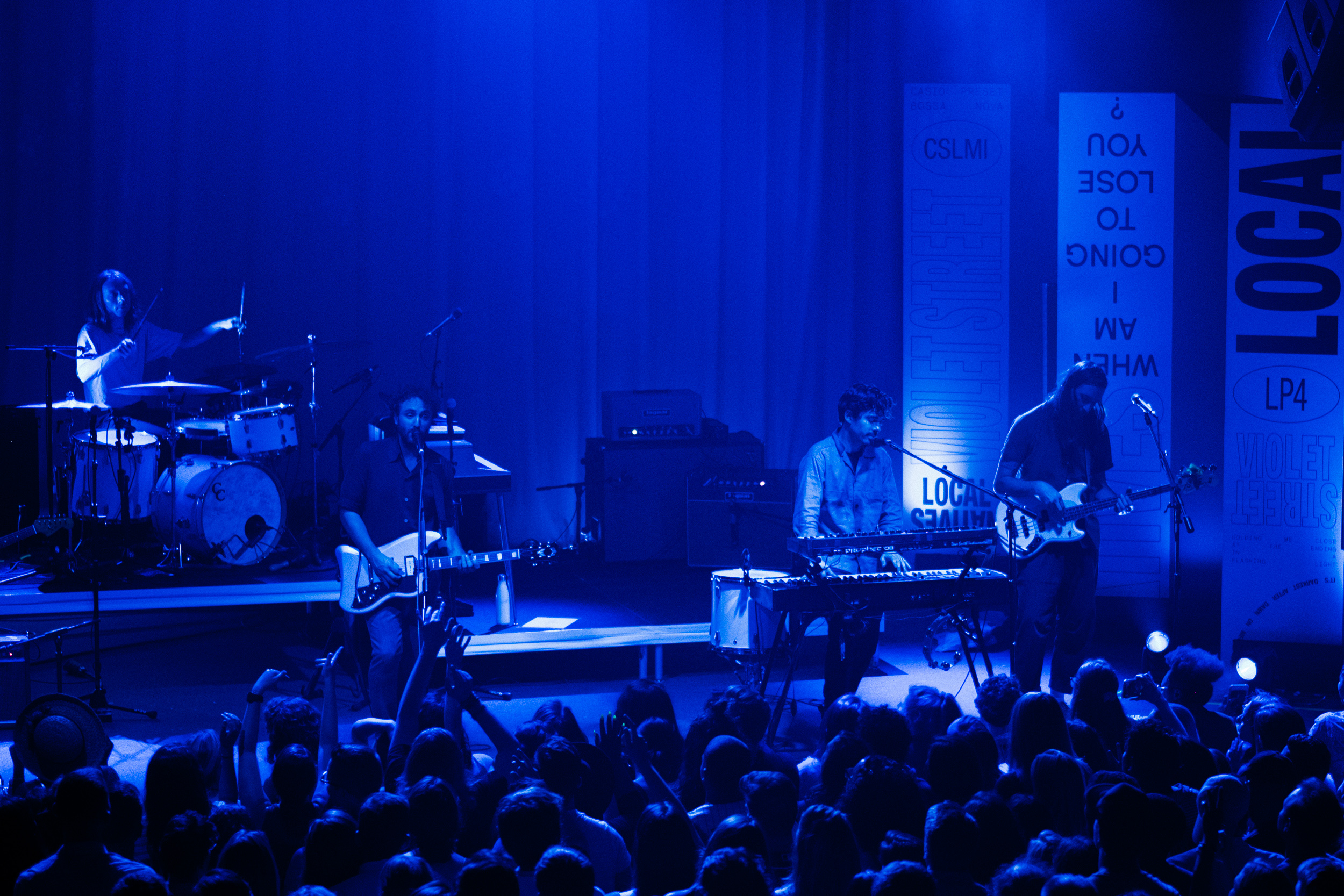 Local Natives at 9:30 Club (Photo by Joel Scott Richard)