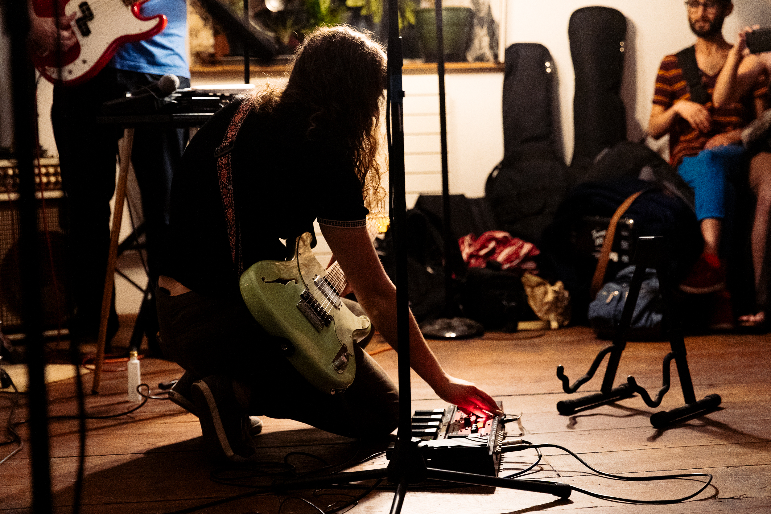 Adele Marie and the Milkweeds at Dwell (Photo by Mauricio Castro)