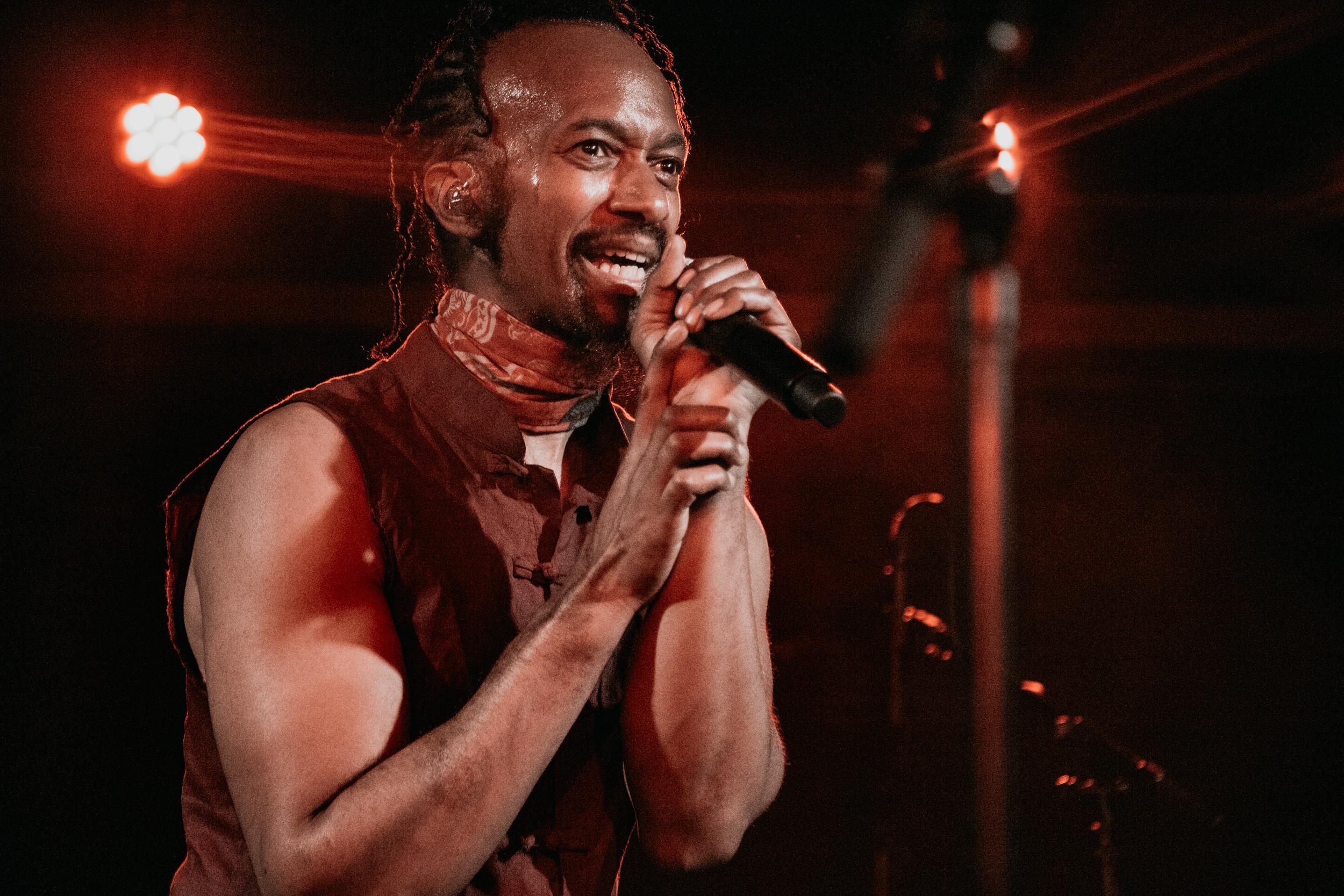 Fantastic Negrito at Union Stage (Photo by Carolina Correa-Caro /  @veronik.bandw )