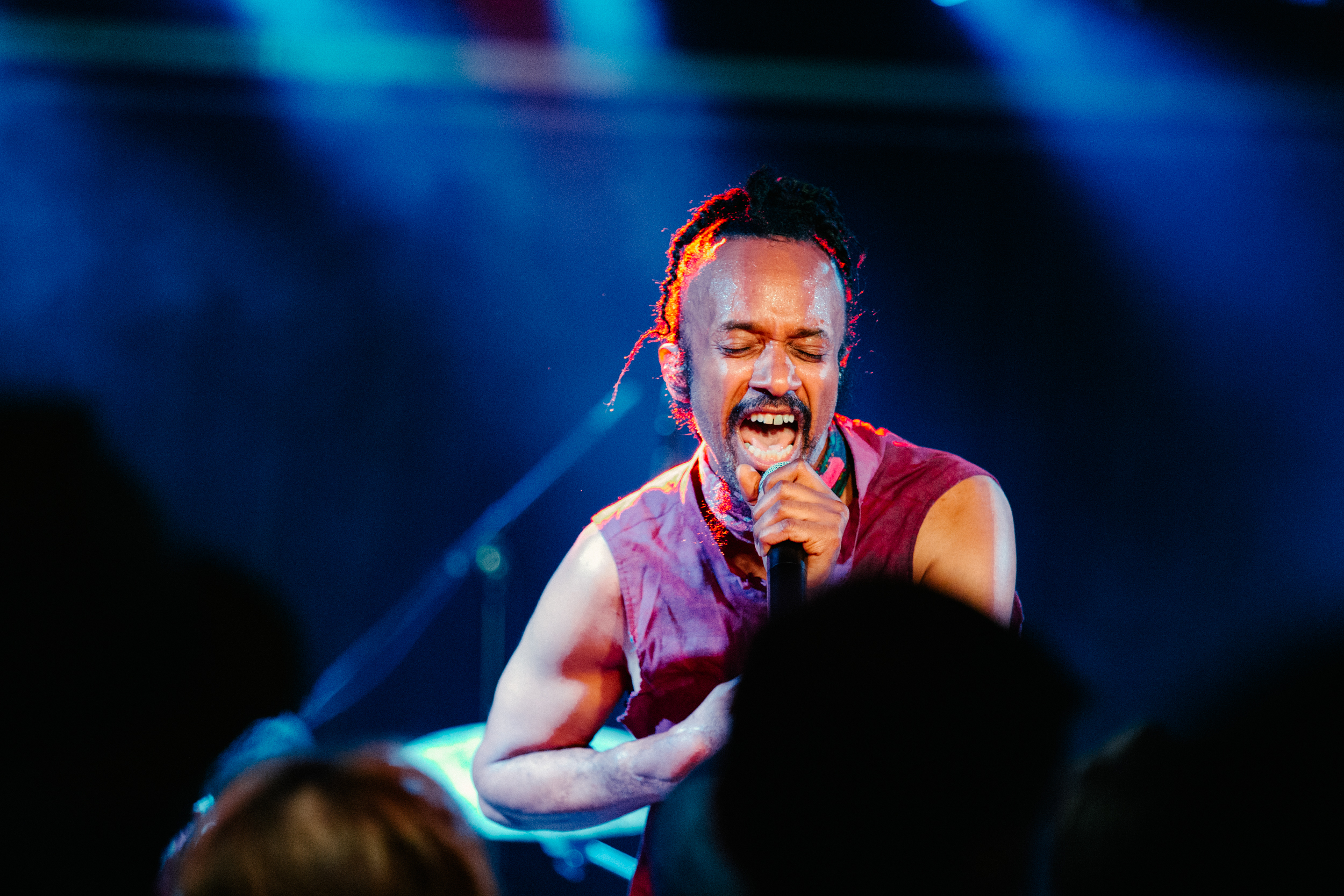 Fantastic Negrito at union Stage (Photo by Carolina Correa-Caro)