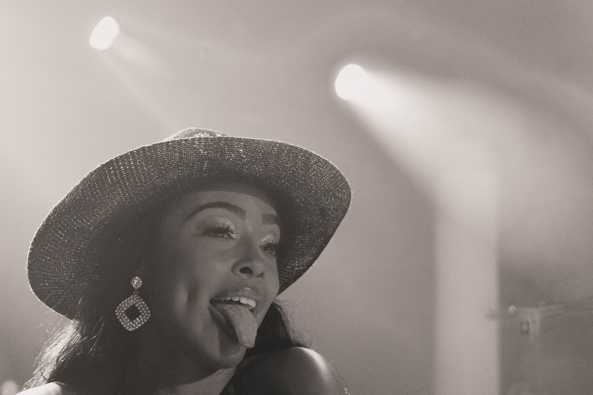 Nitty Scott opening for Jamila Woods at Union Stage in Washington, DC - 6/4/19 (Photo by Avery Junius)
