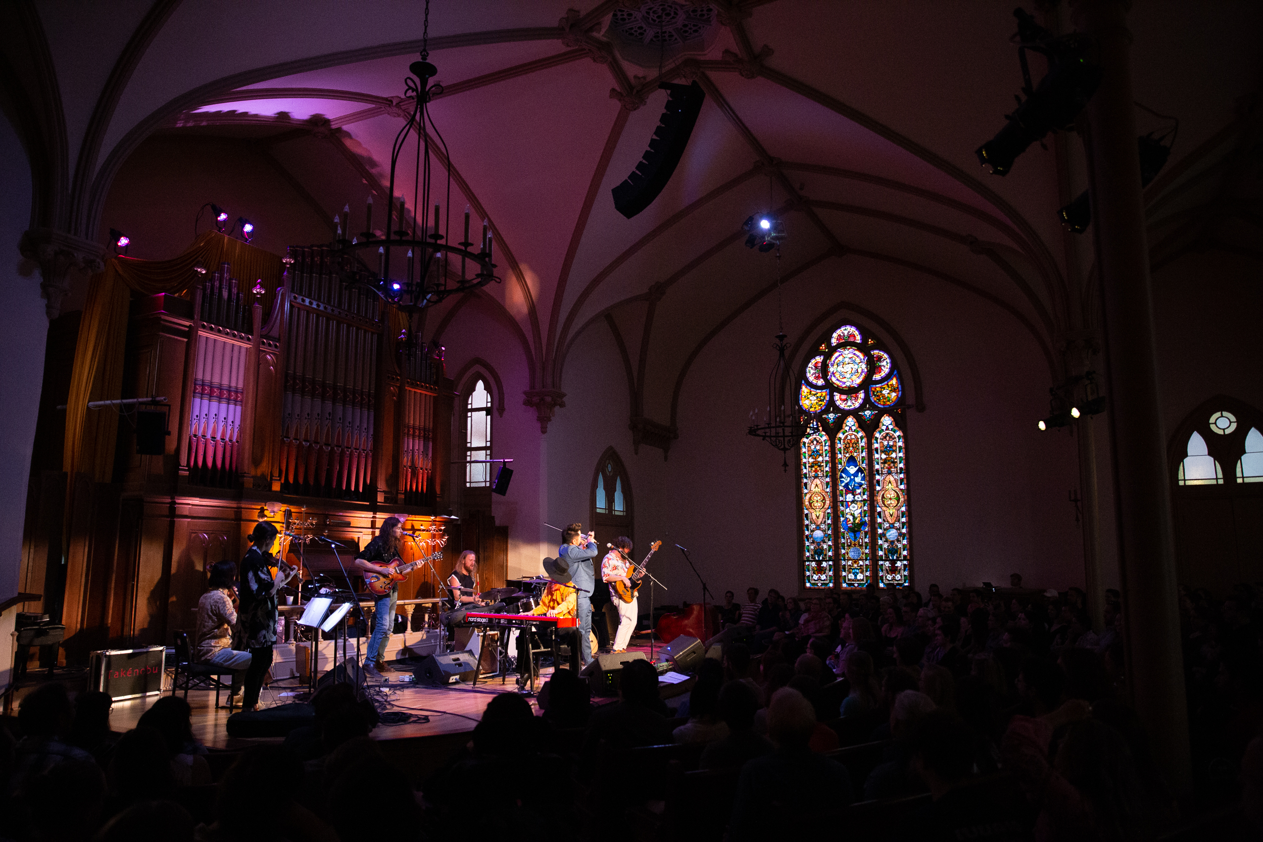 Kishi Bashi at The Old Church (Photo by Mauricio Castro)