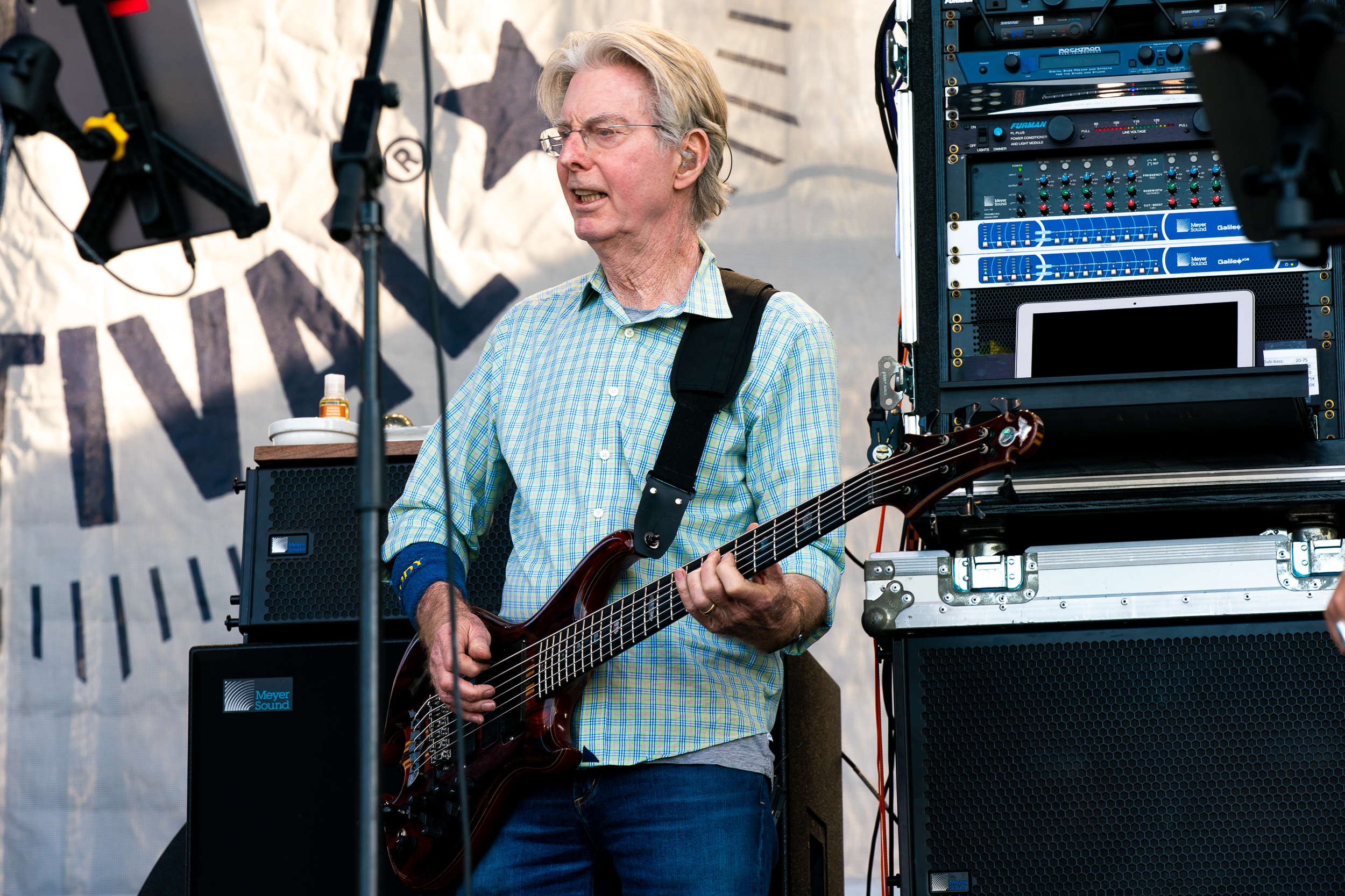 Phil Lesh and the Terrapin Family Band at Newport Folk Festival (Photo by Mauricio Castro)