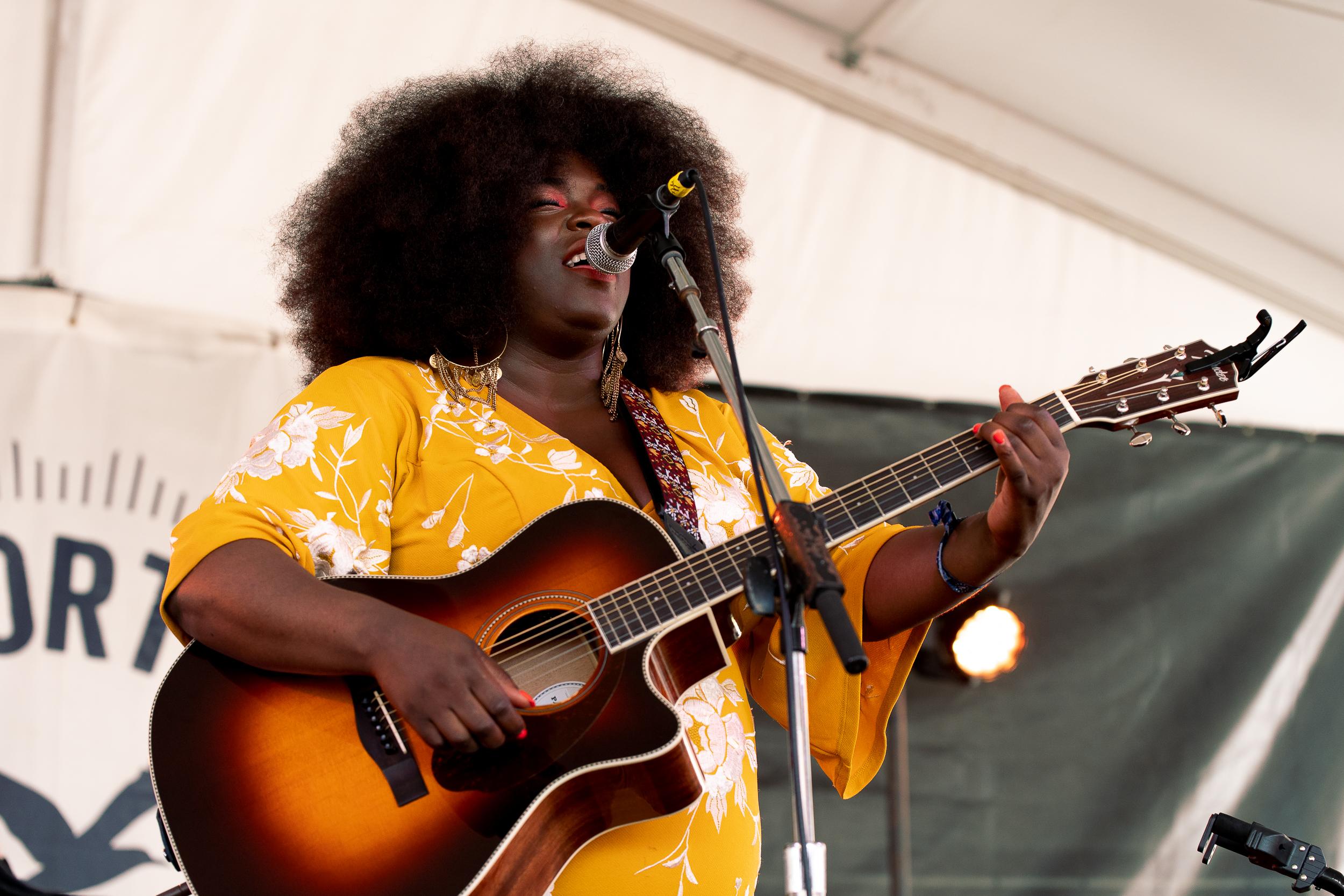 Yola at Newport Folk Festival (Photo by Mauricio Castro)