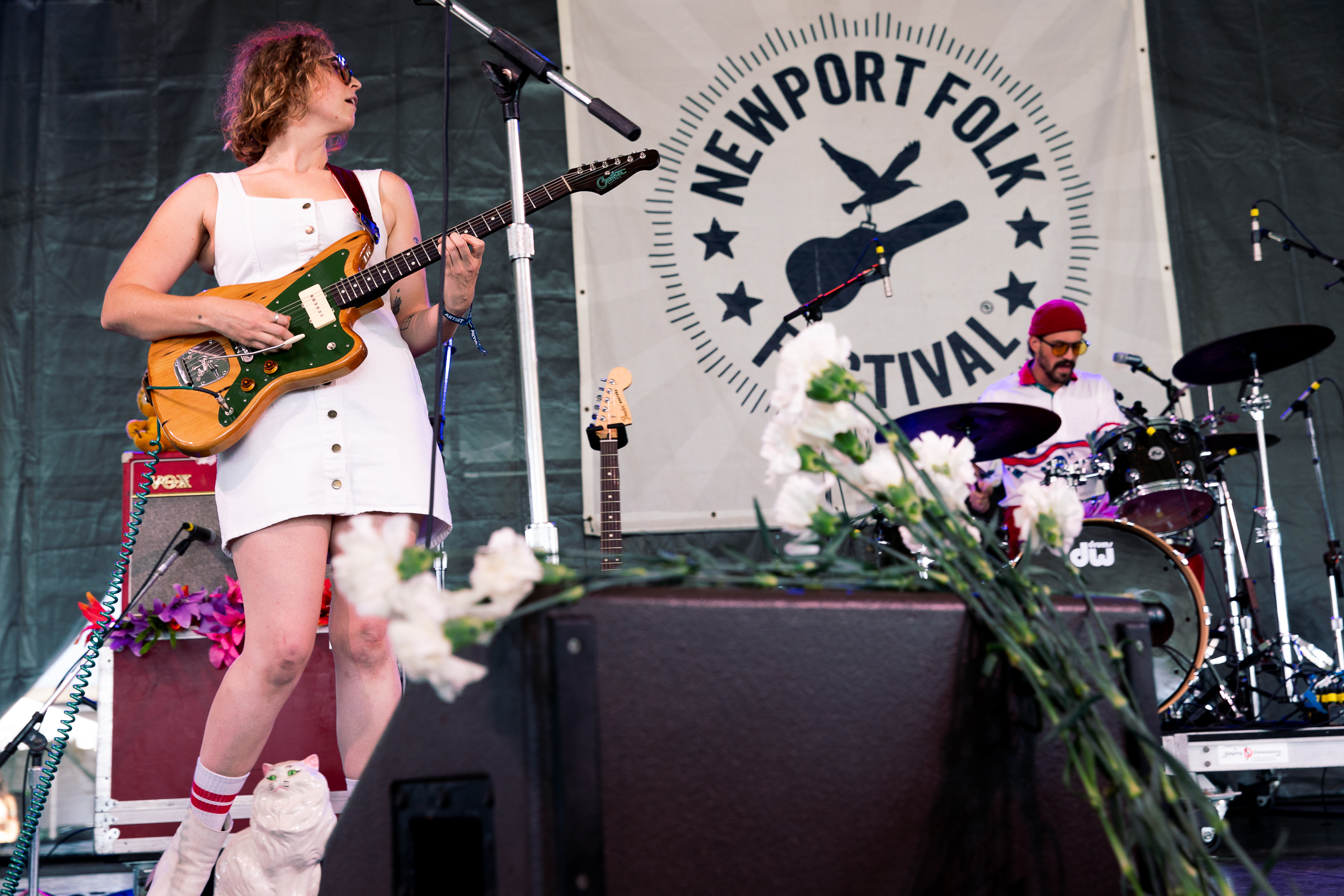 Liz Cooper and the Stampede at Newport Folk Festival (Photo by Mauricio Castro)