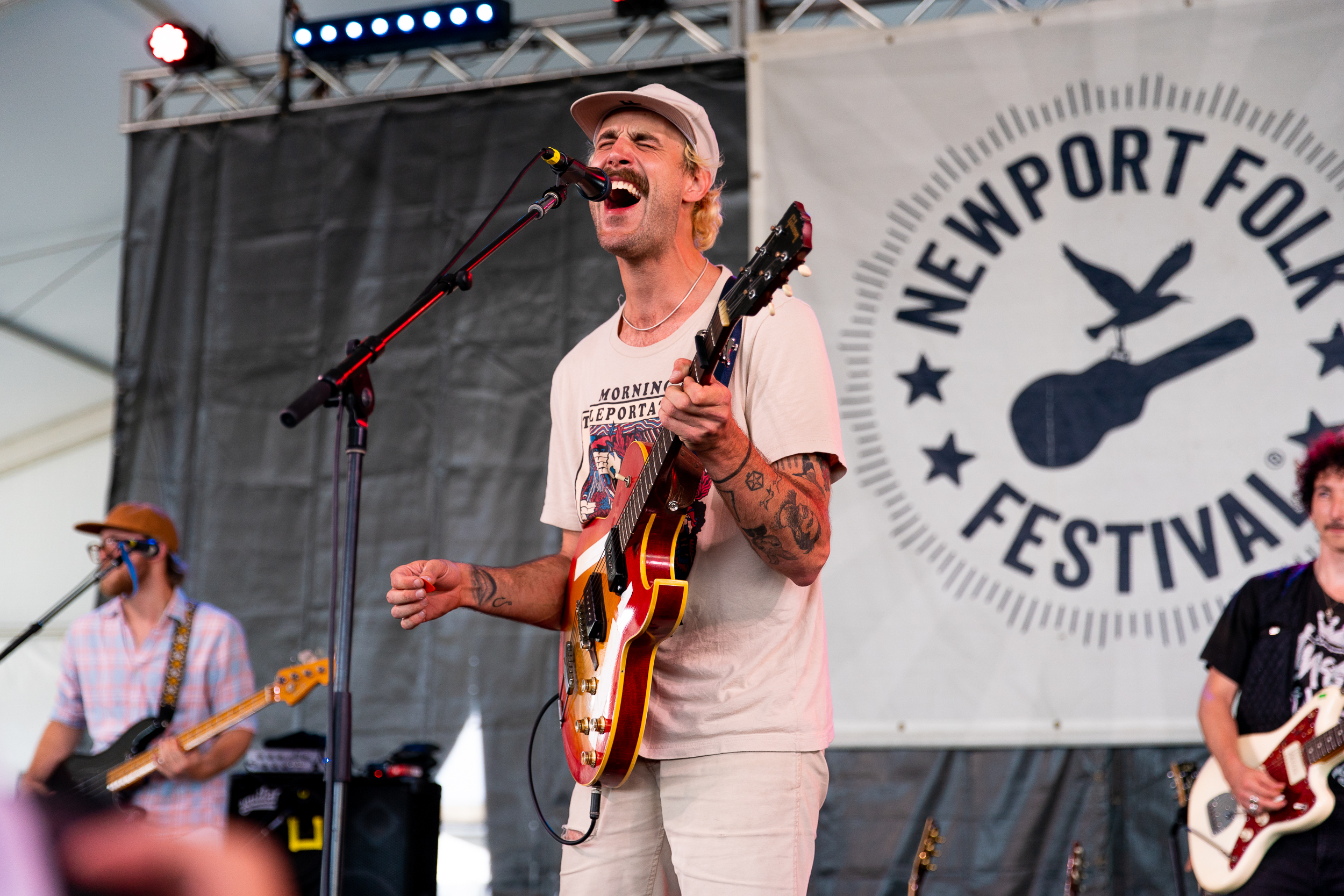 Rayland Baxter at Newport Folk Festival (Photo by Mauricio Castro)
