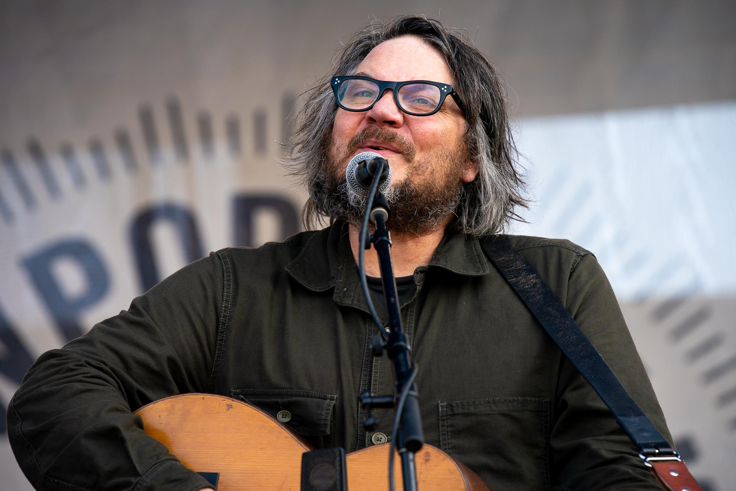 Jeff Tweedy at Newport Folk Festival (Photo by Mauricio Castro)