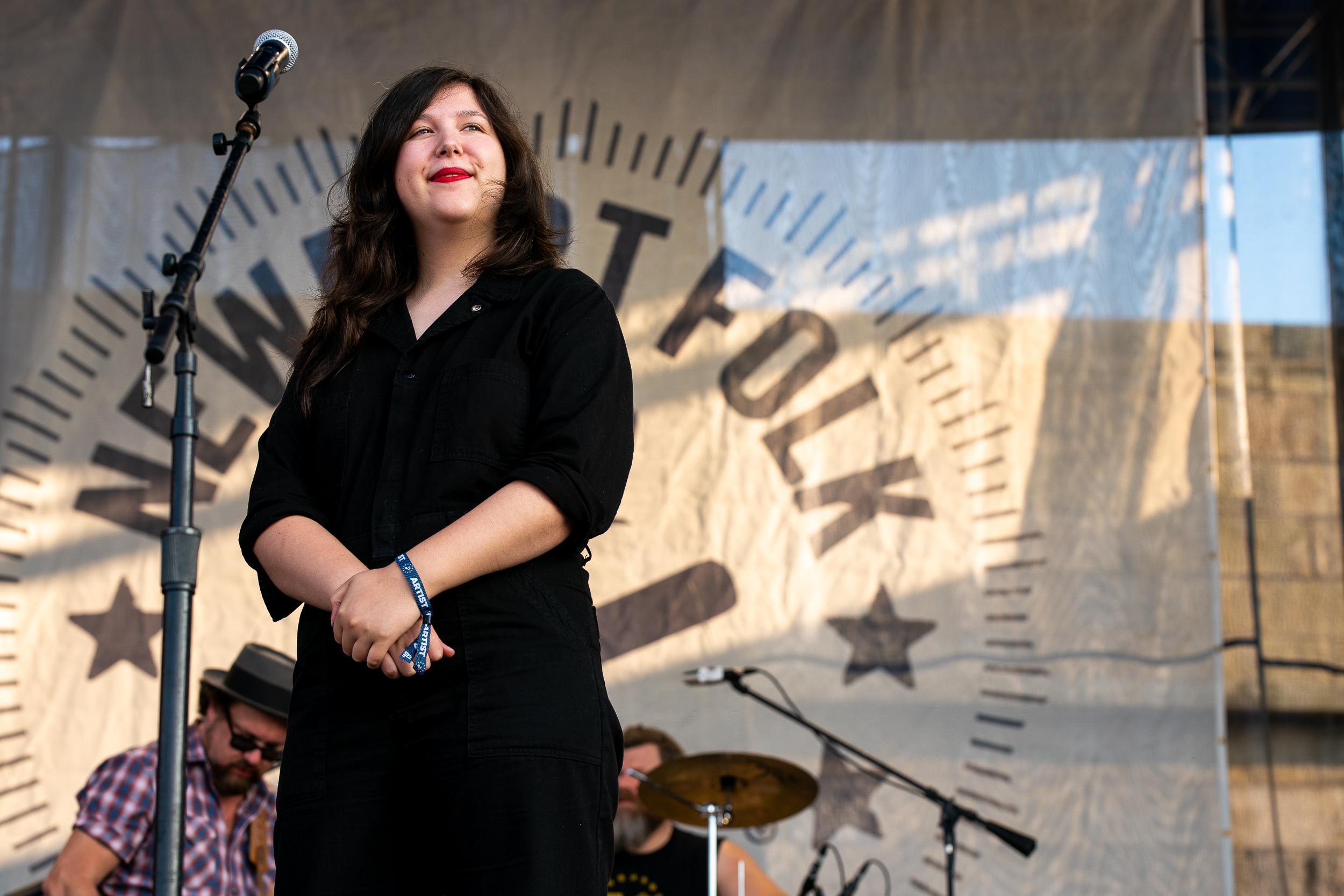 Lucy Dacus at Newport Folk Festival (Photo by Mauricio Castro)
