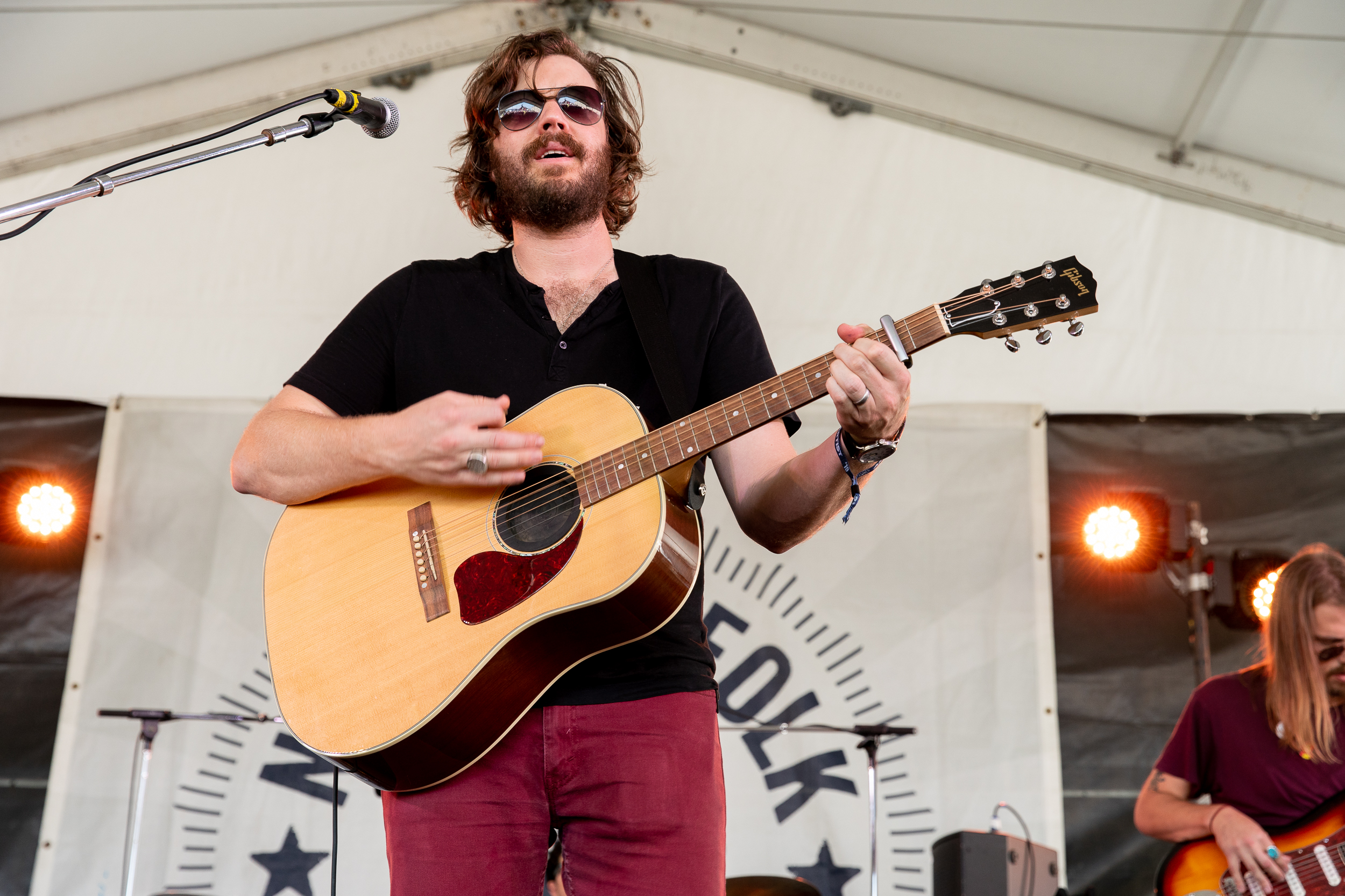 E.B. the Younger at Newport Folk Festival (Photo by Mauricio Castro)