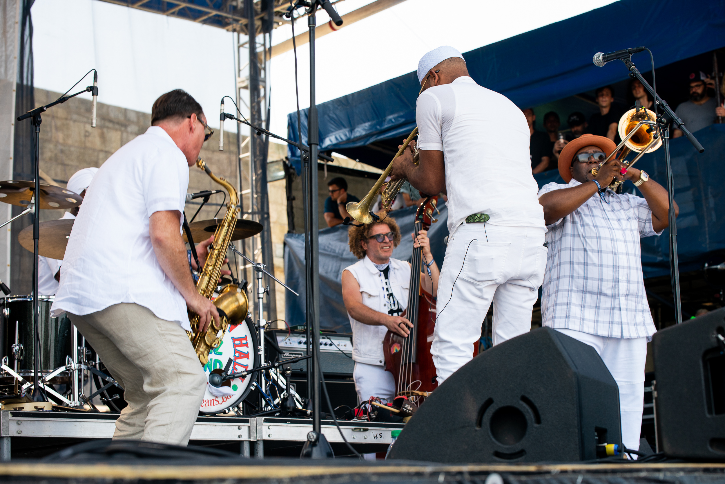 Preservation Hall Jazz Band at Newport Folk Festival (Photo by Mauricio Castro)