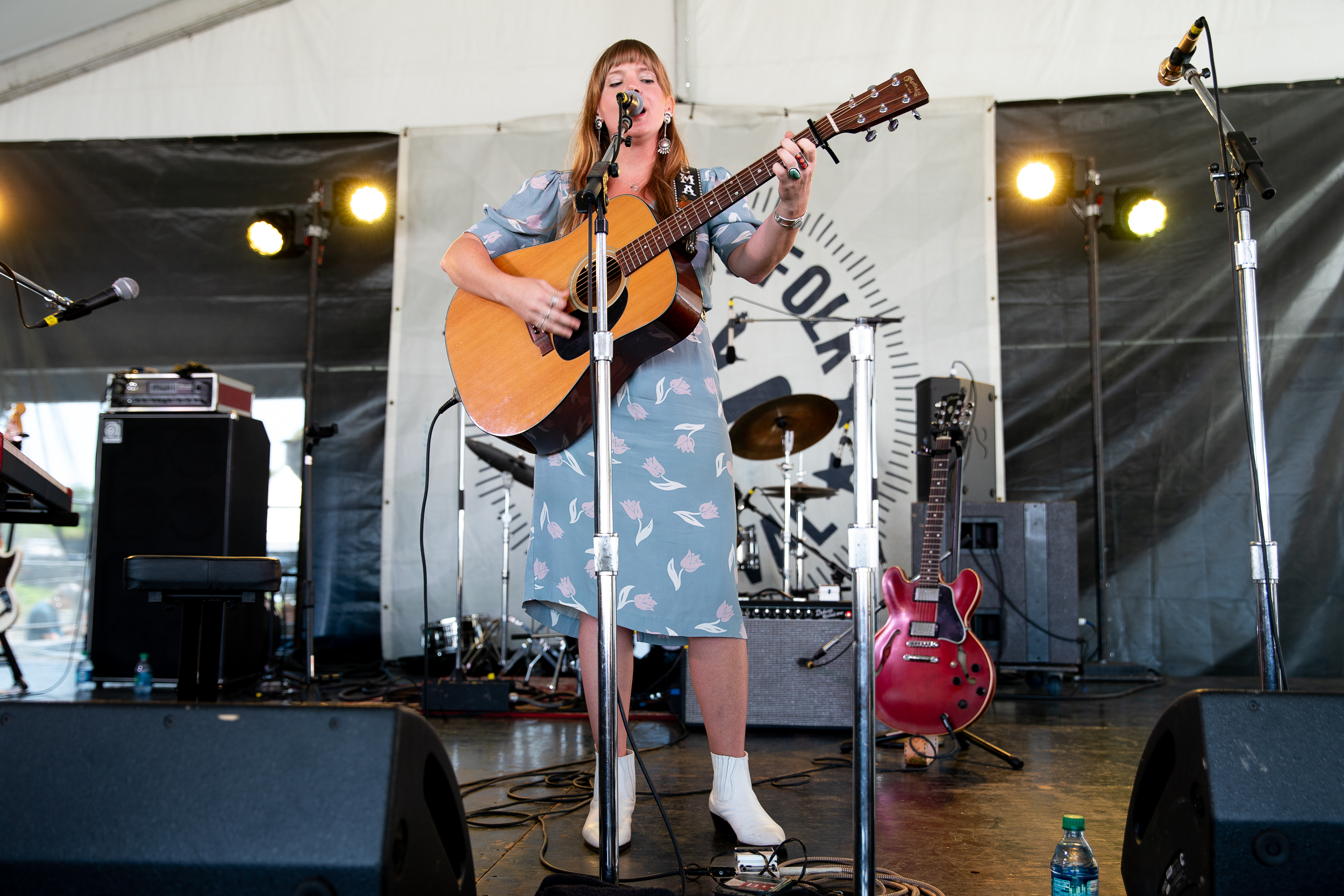 Courtney Marie Andrews at Newport Folk Festival (Photo by Mauricio Castro)
