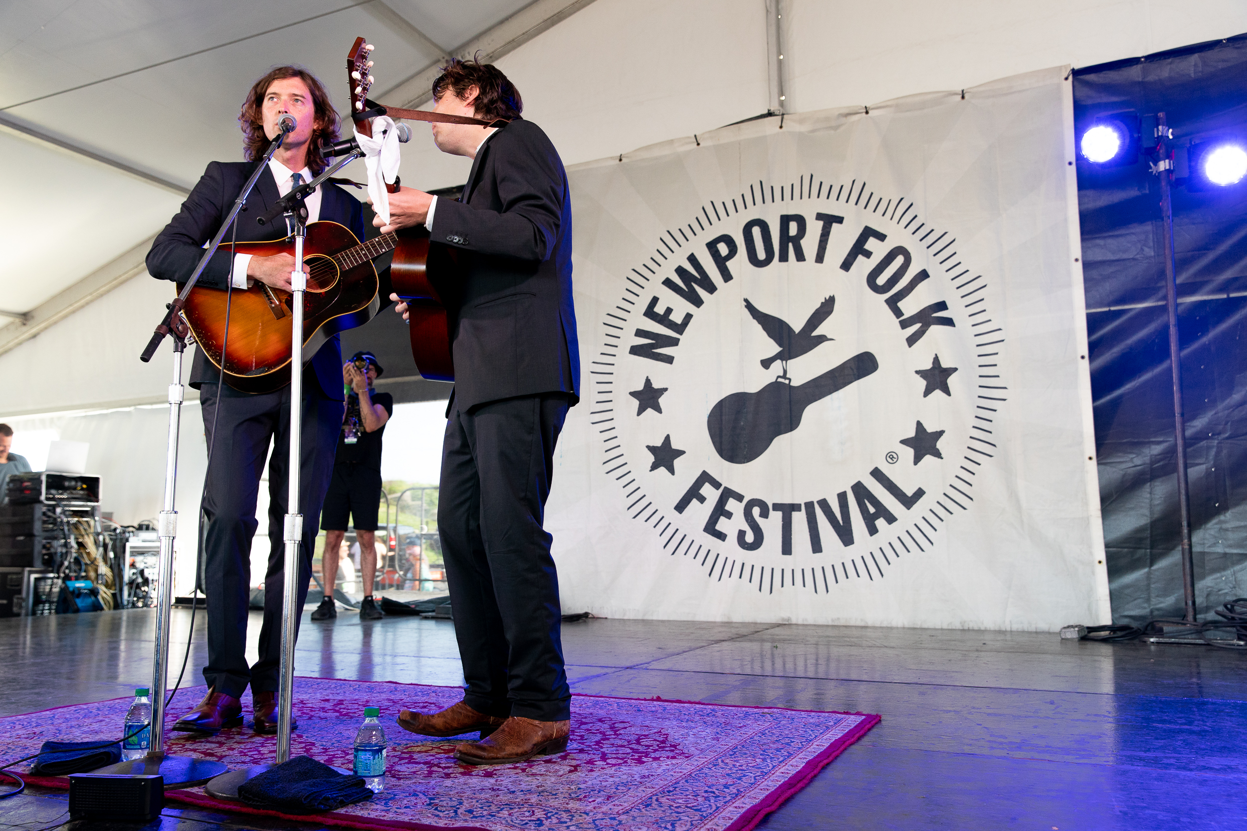 The Milk Carton Kids at Newport Folk Festival (Photo by Mauricio Castro)