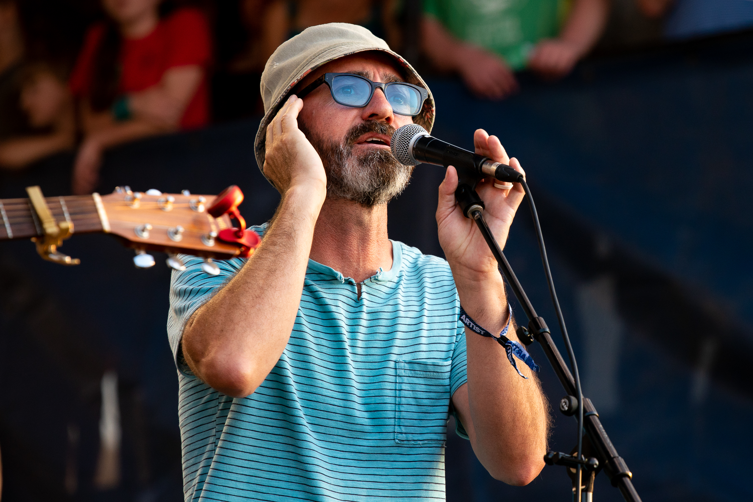 James Mercer (The Shins) at Newport Folk Festival (Photo by Mauricio Castro)